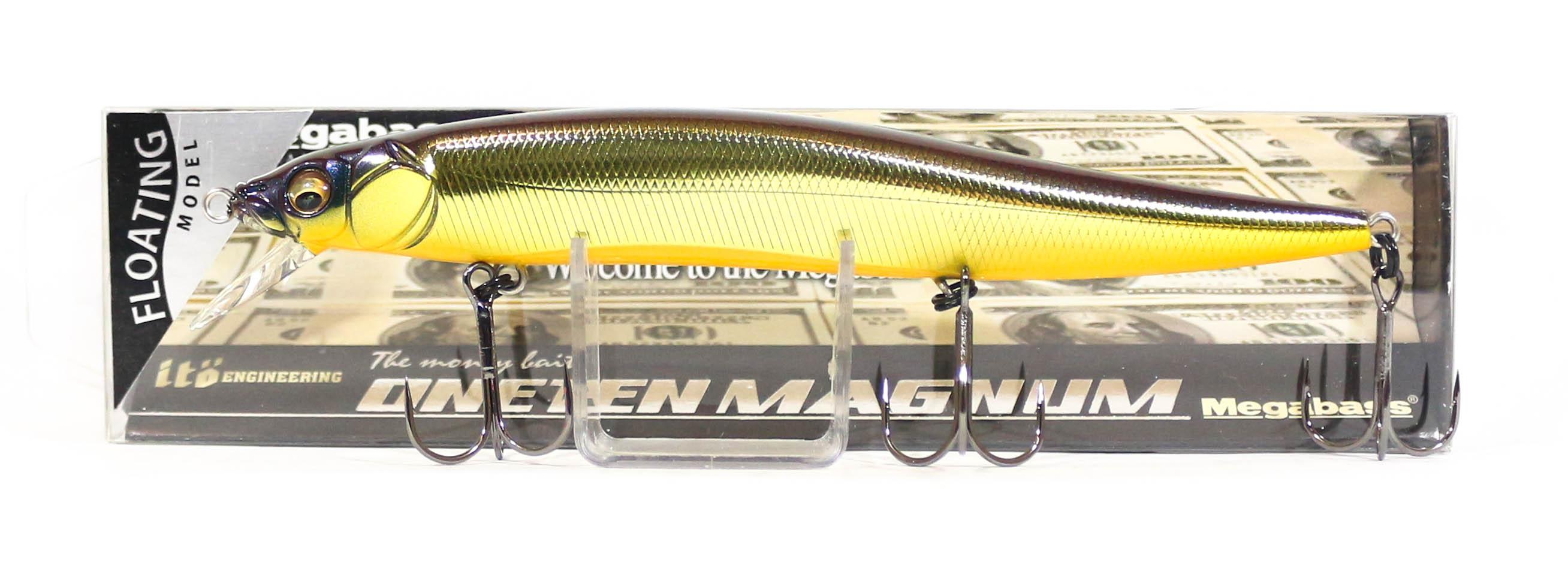 Megabass Vision 110 Oneten Magnum F Schwimmend Köder M Champagne Kinkuro 4549