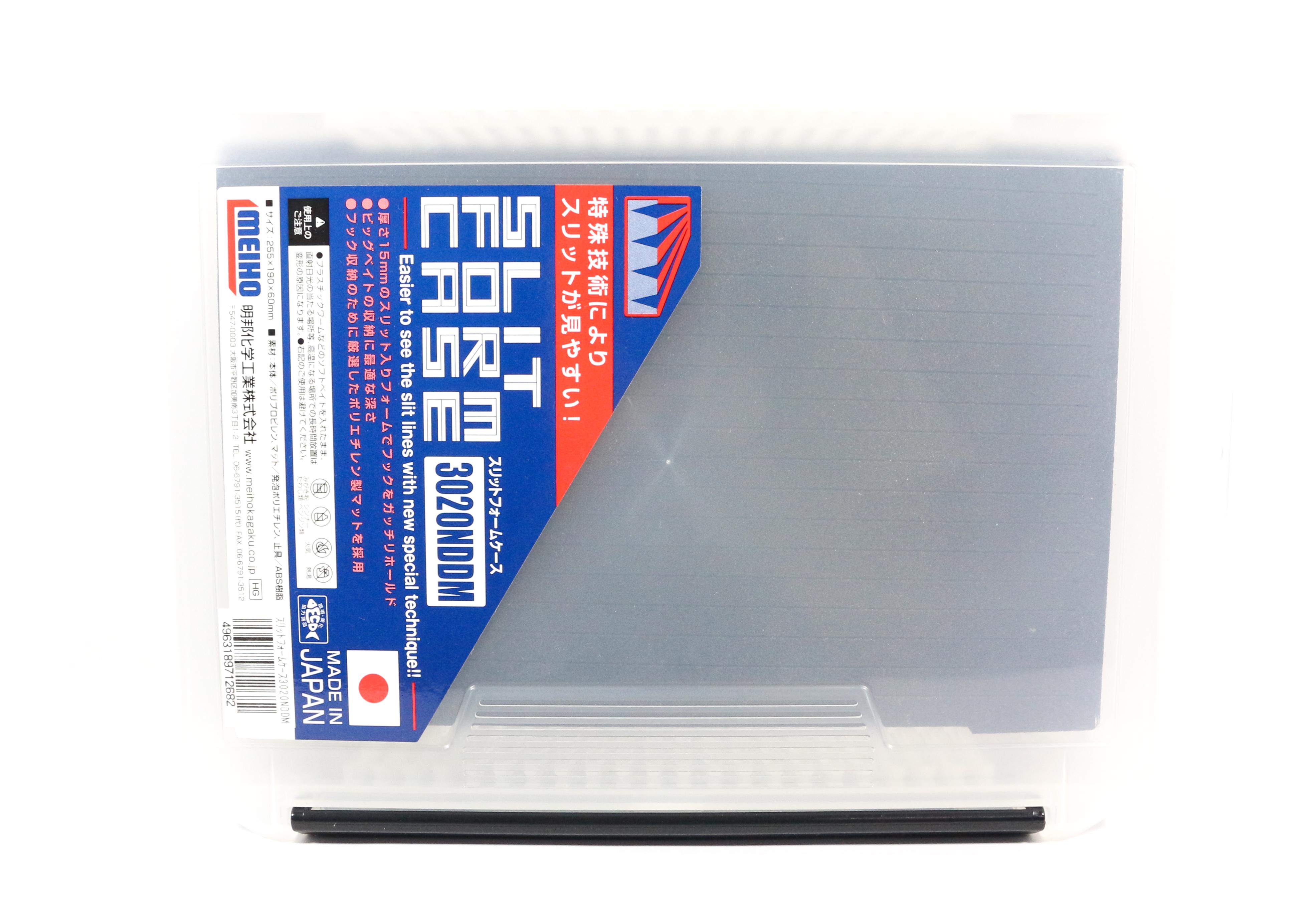 Meiho Slit Form Case 3020NDDM ( 255 x 190 x 60 mm ) Clear (2682)