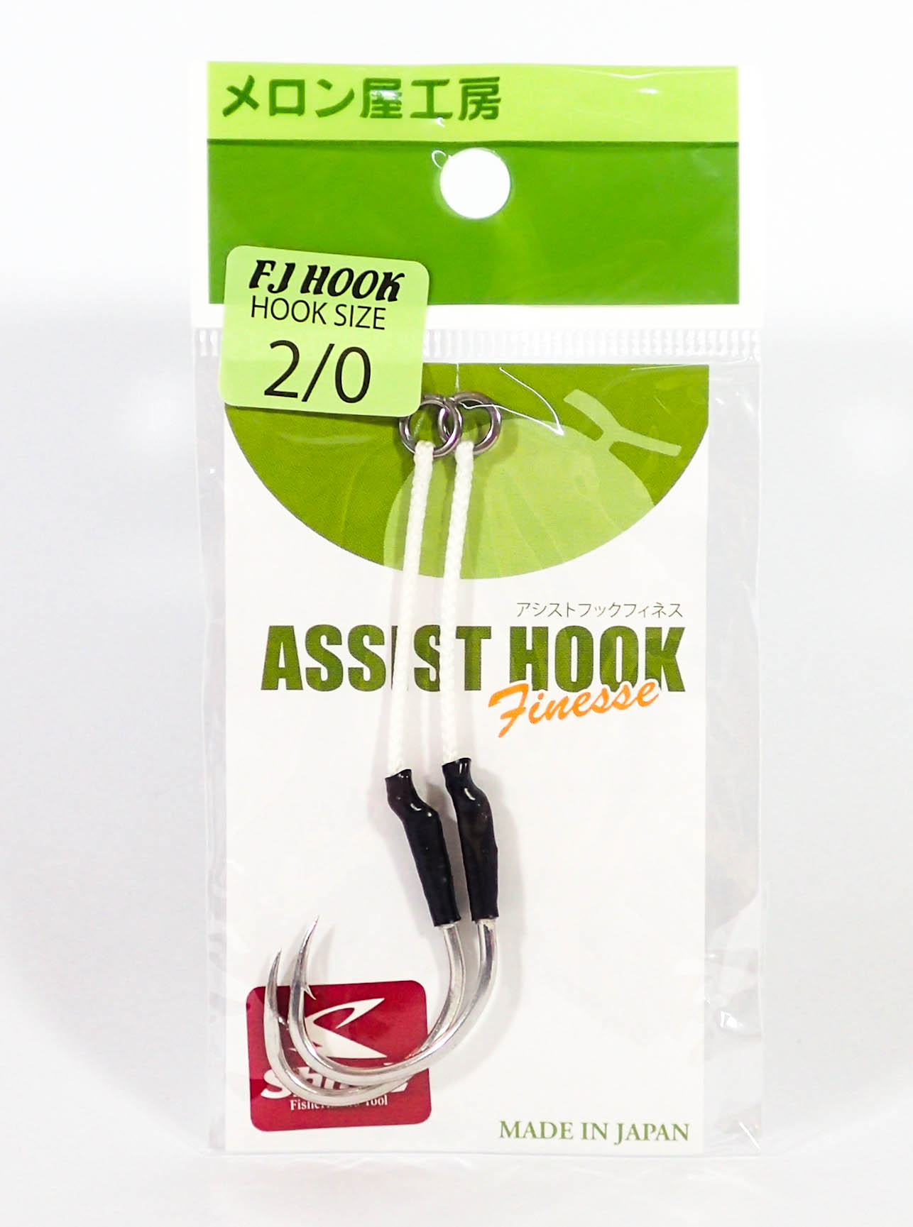 Sale Melon-Ya Finesse FJ Hook Single Hook Size 2/0 (8564)