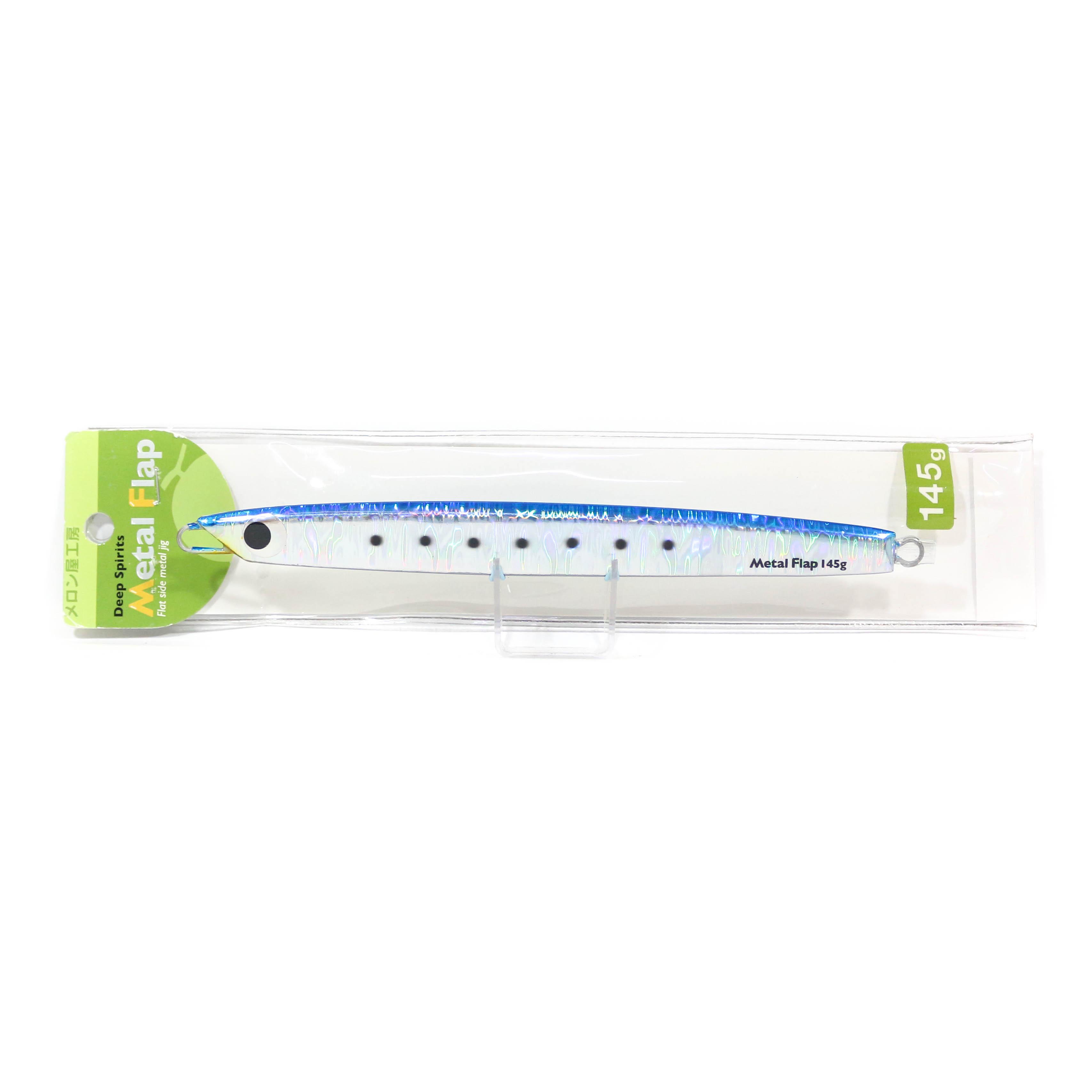 Melon Ya Metal Jig Metal Flap 145 grams Iwashi (6300)