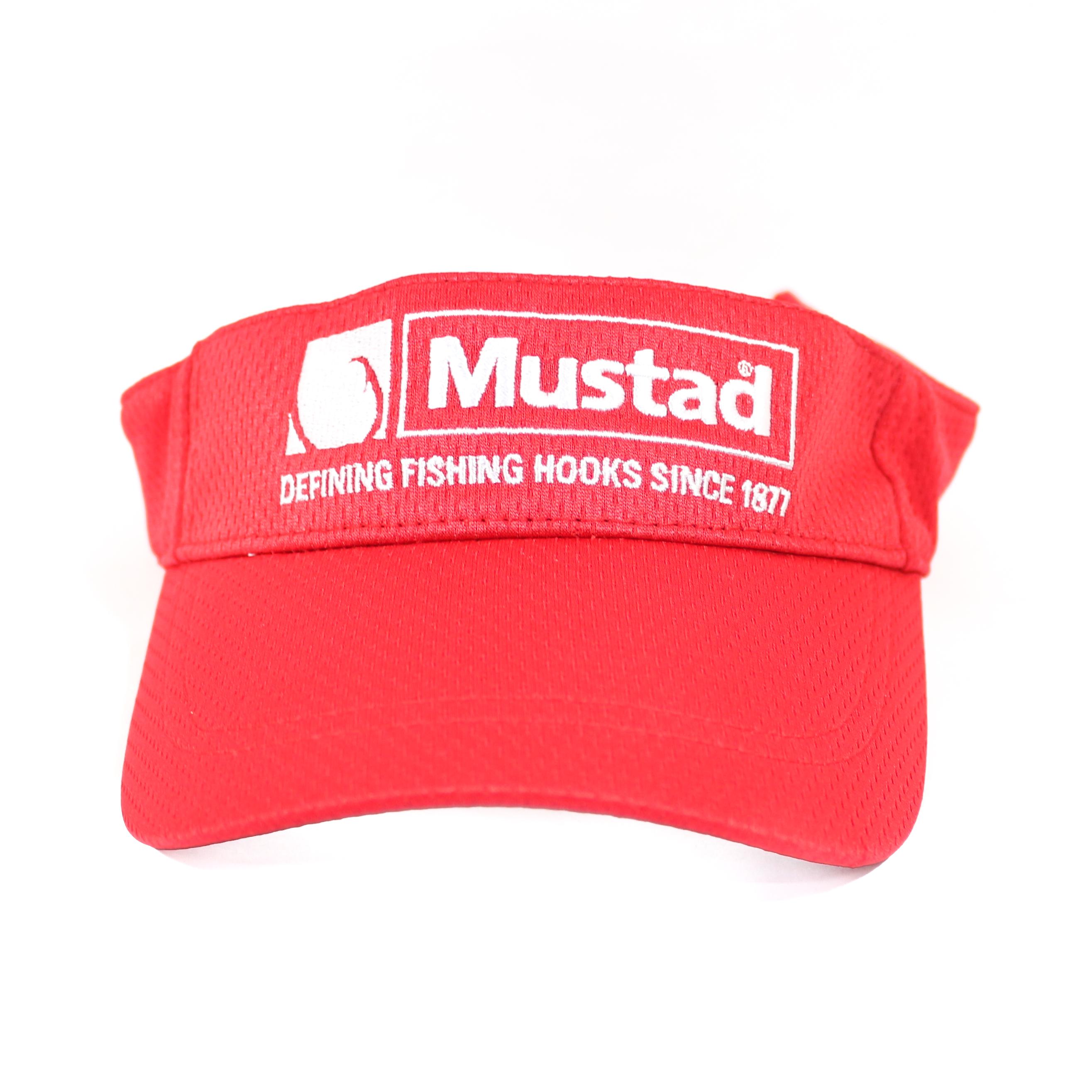 Mustad MCAP03 Visor Red Free Size (8621)