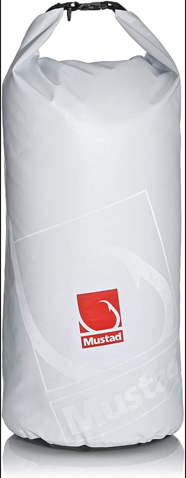 Mustad Dry Bag 20 Litres White/Red (1892)