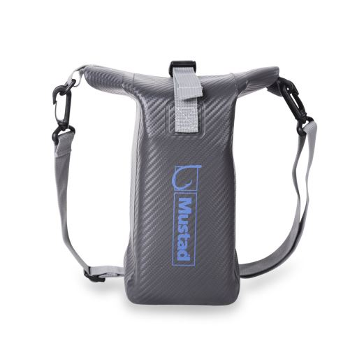 Mustad Dry Bag 2-3 Litres W/Pouch Black/Blue (9008)