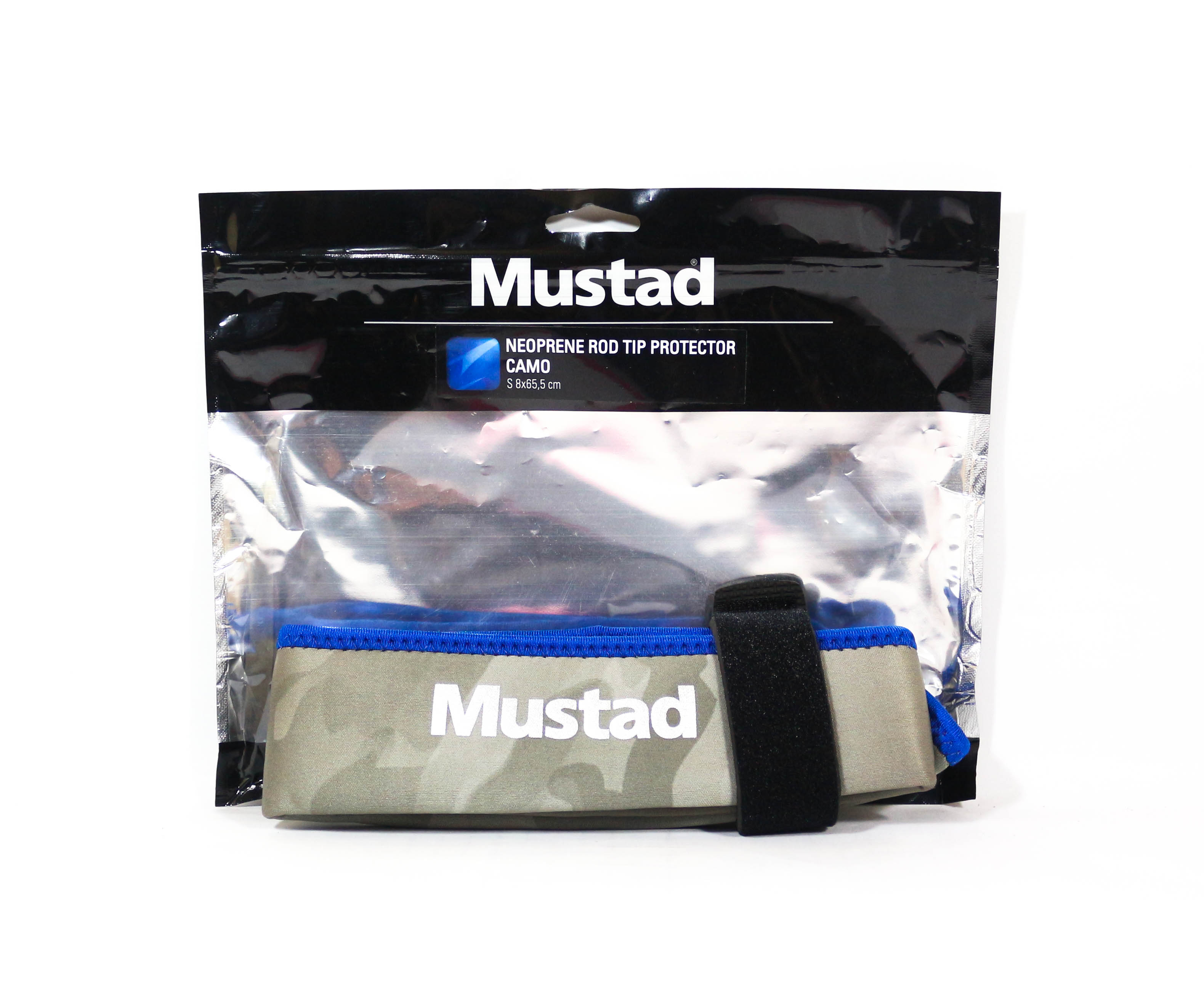 Mustad Neoprene Rod Tip Protector Camou Size S (5476)