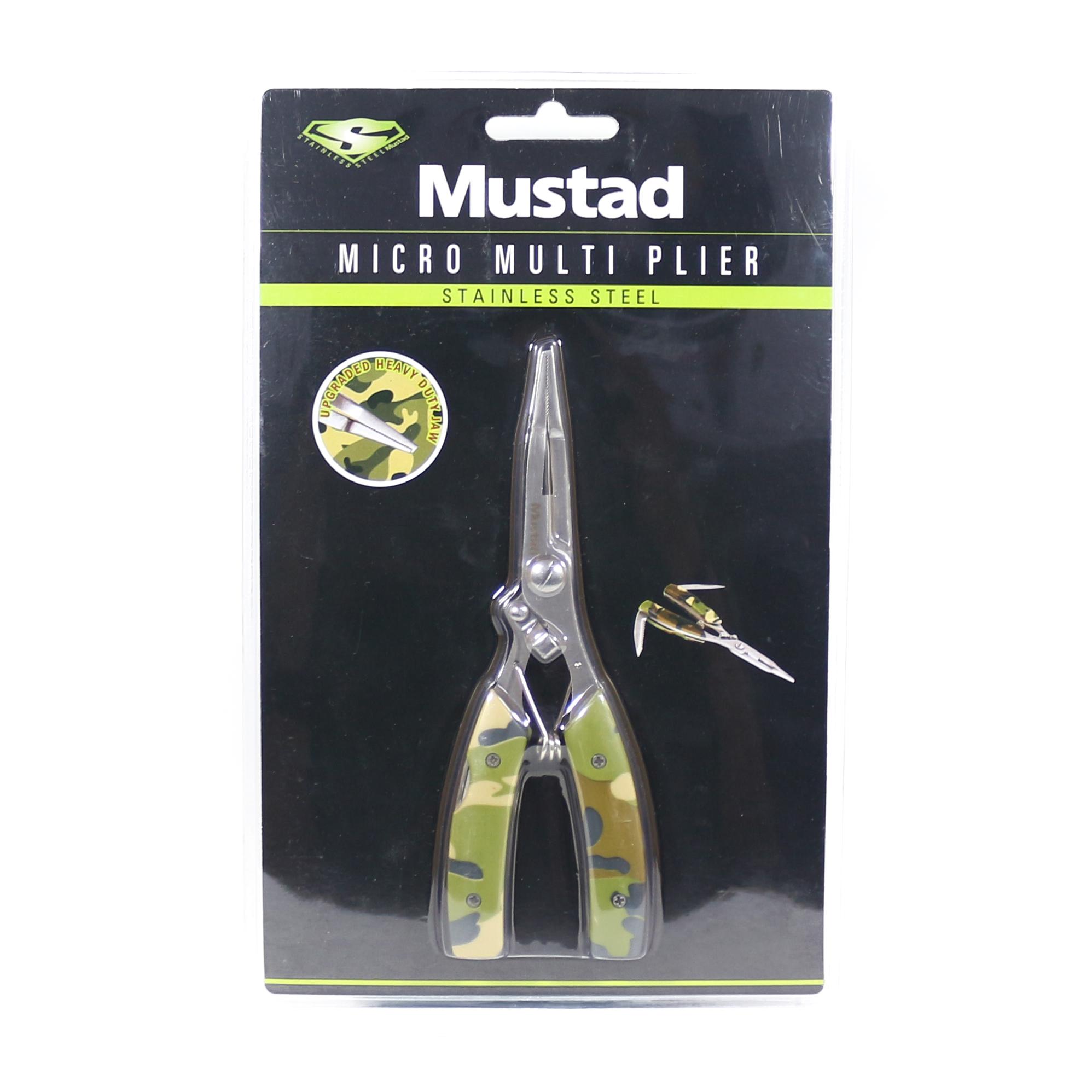 Mustad Plier Finesse Multi Purpose 4 Inches Camou (8680)