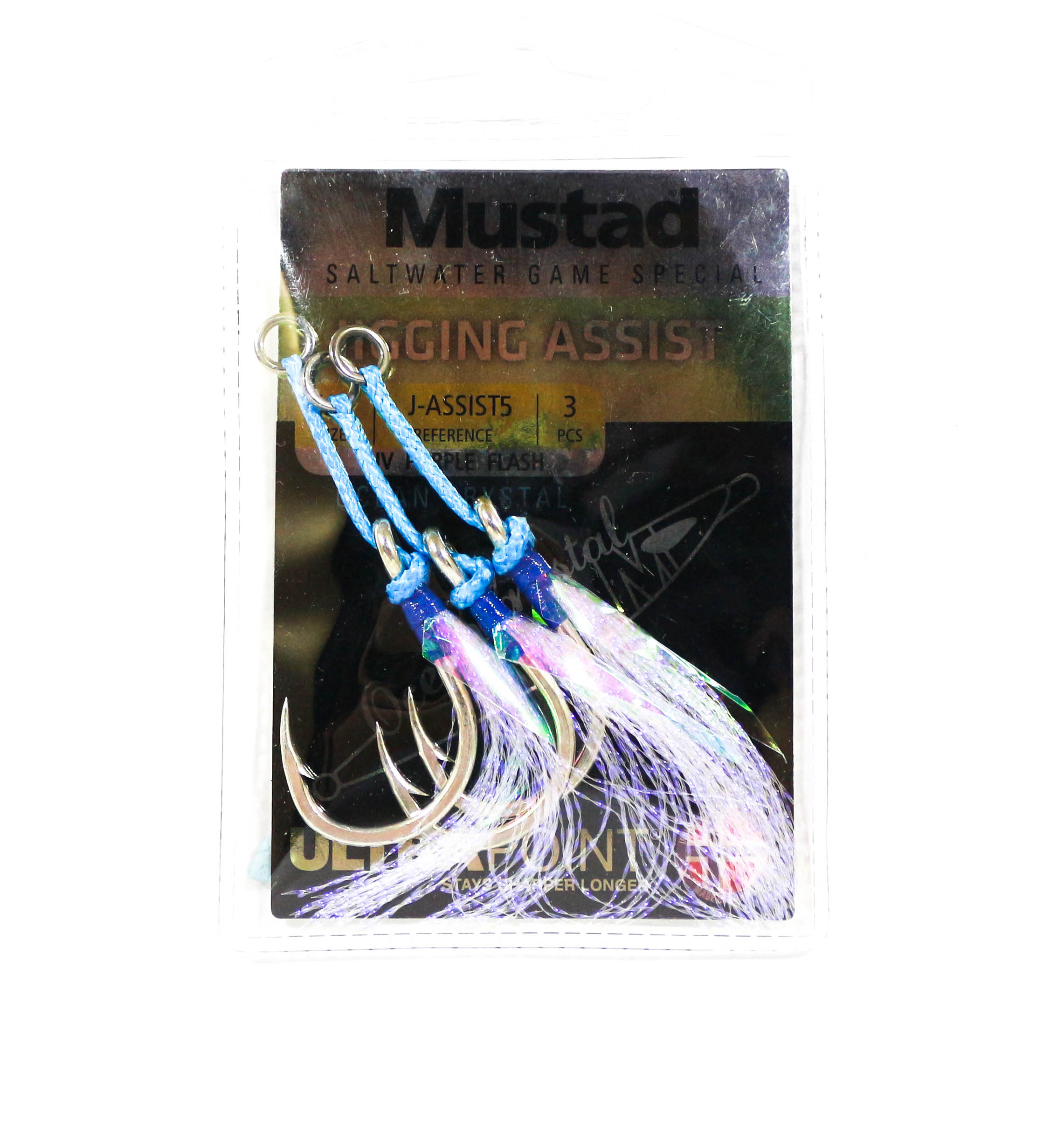 Mustad Ocean Crystal Jigging Assist Size 5/0 (1361)
