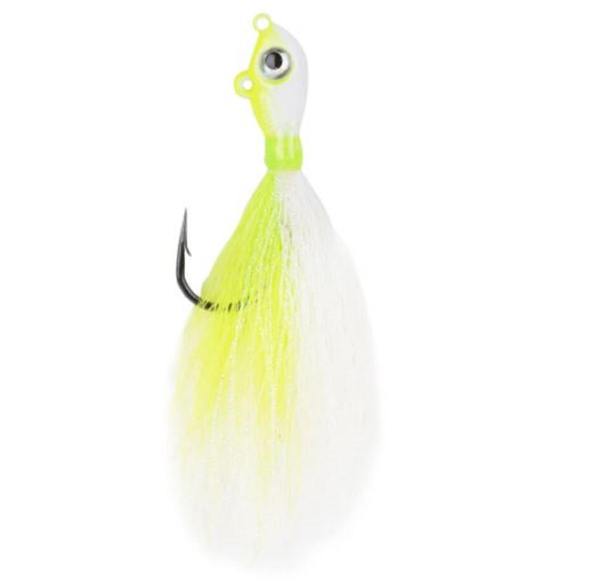 Mustad BEB-3/4-WCH Big Eye Bucktail 3/4oz Chart (0808)