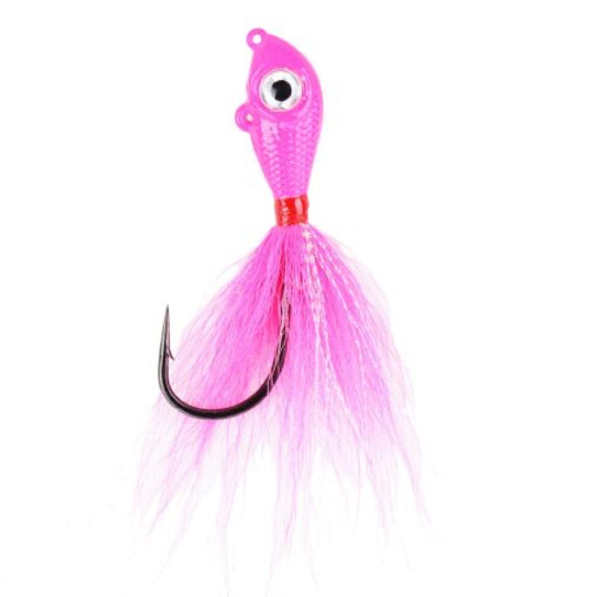 Mustad BEB-3/4-PK Big Eye Bucktail 3/4oz Pink (0846)