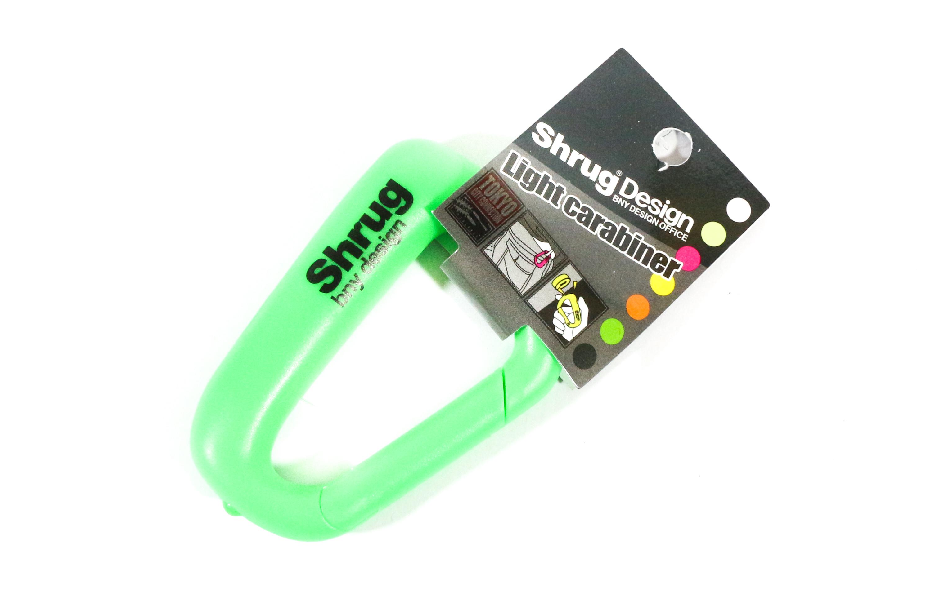 NOL Corp SHL-3-05 Shrug Light Carabina Neon Green (2800)