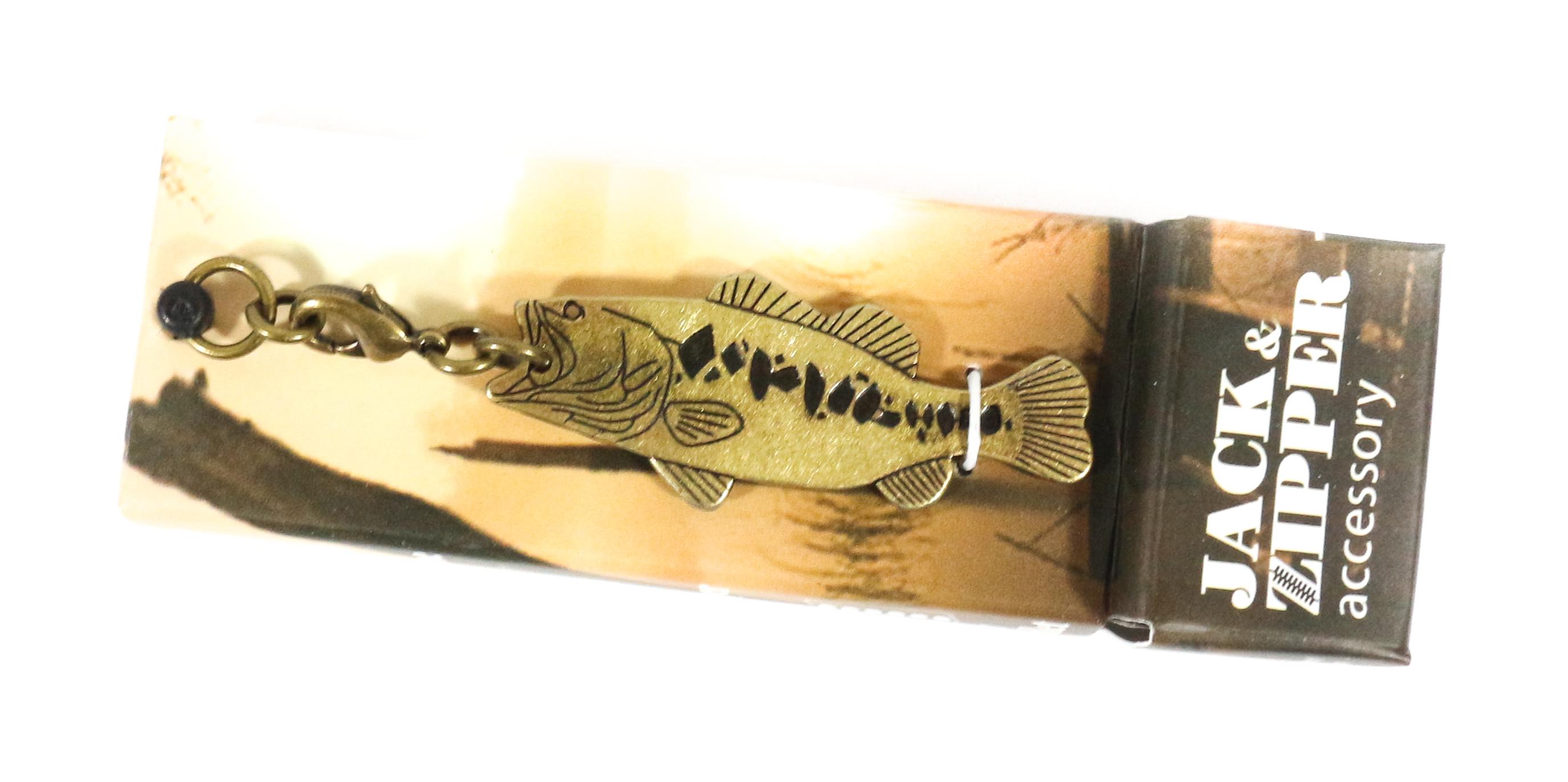 NOL Corp UOJ-1-02 JZ Key Chain Black Bass Antique GD (4118)