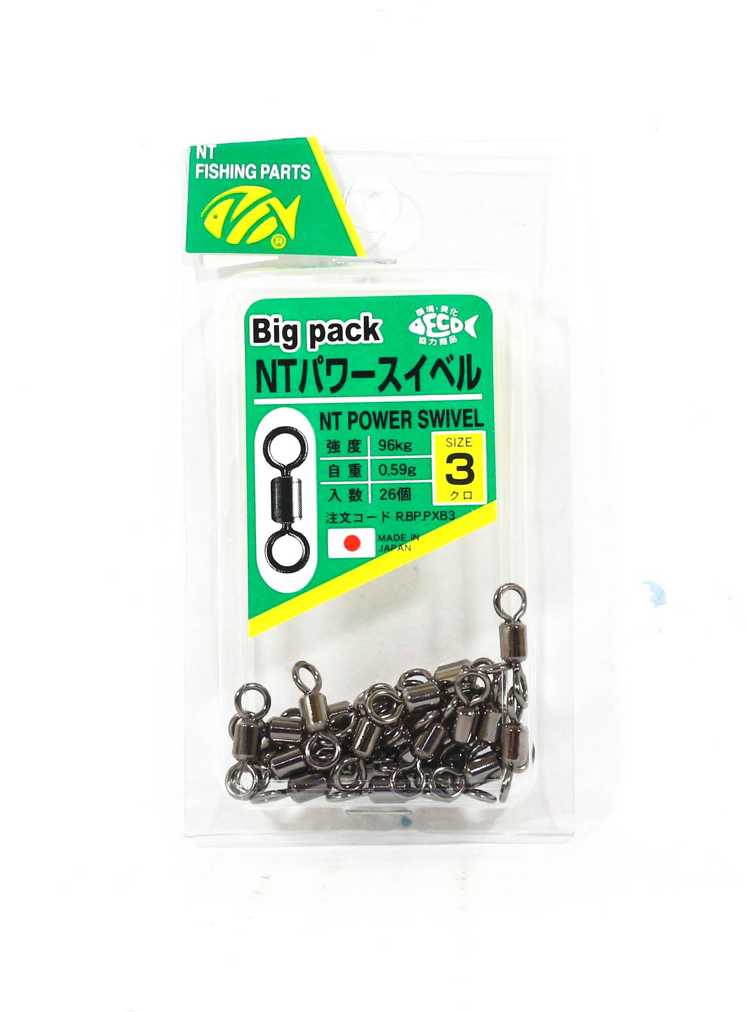NT Power Swivel R.BP.PXB Bulk Pack Size 3 (6939)