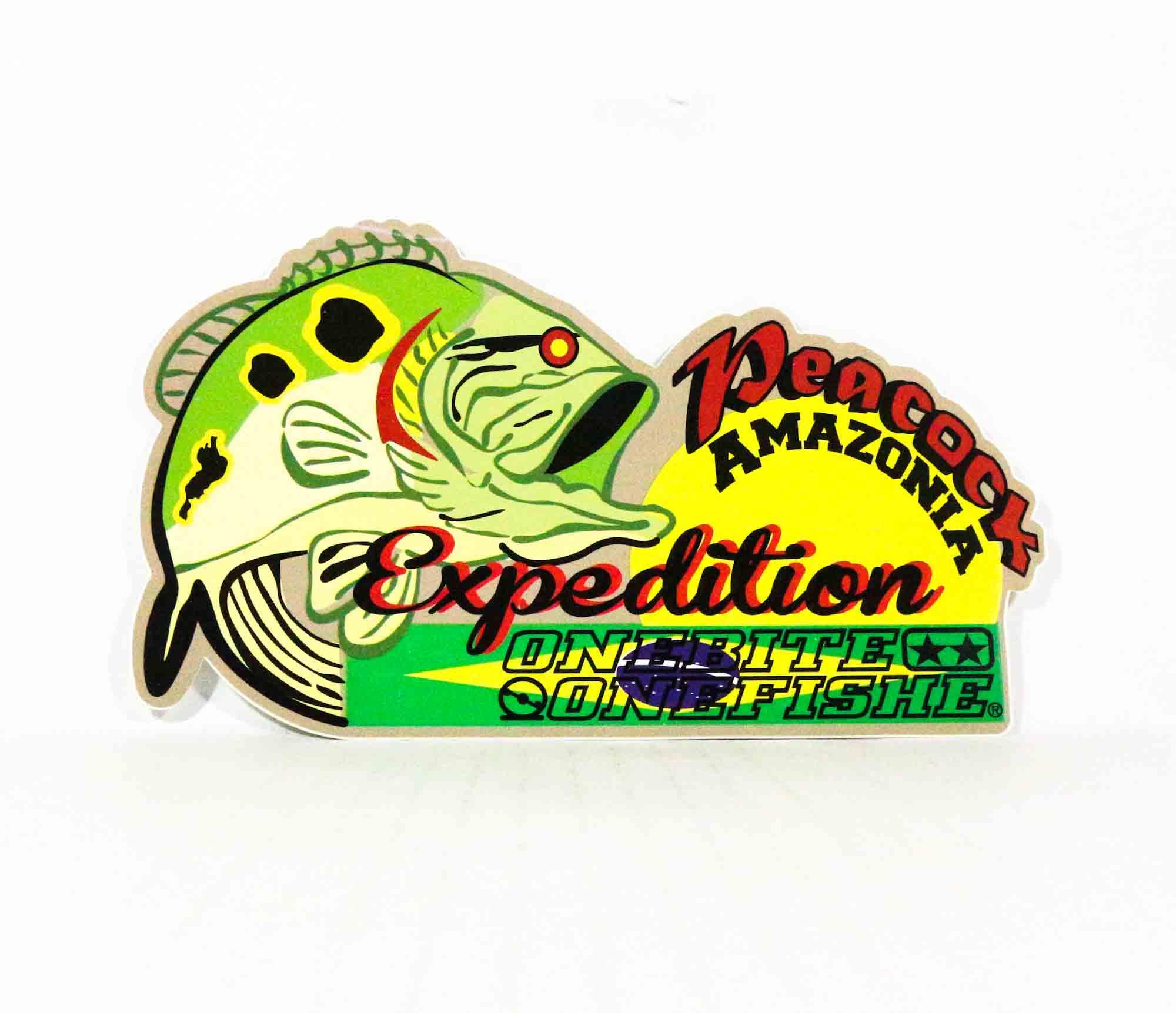 One Bite One Fish Sticker Type F Amazon 20cm (2037)