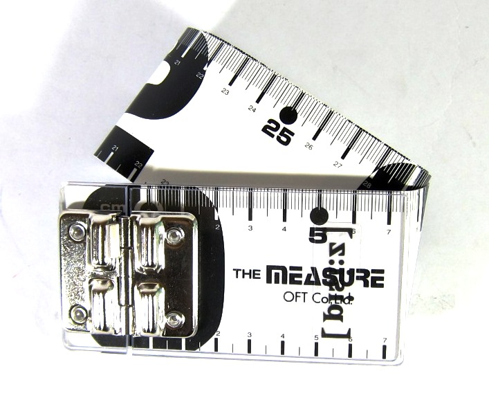 OFT The Measure Type 5 Fishing Tape Measure White (2766)