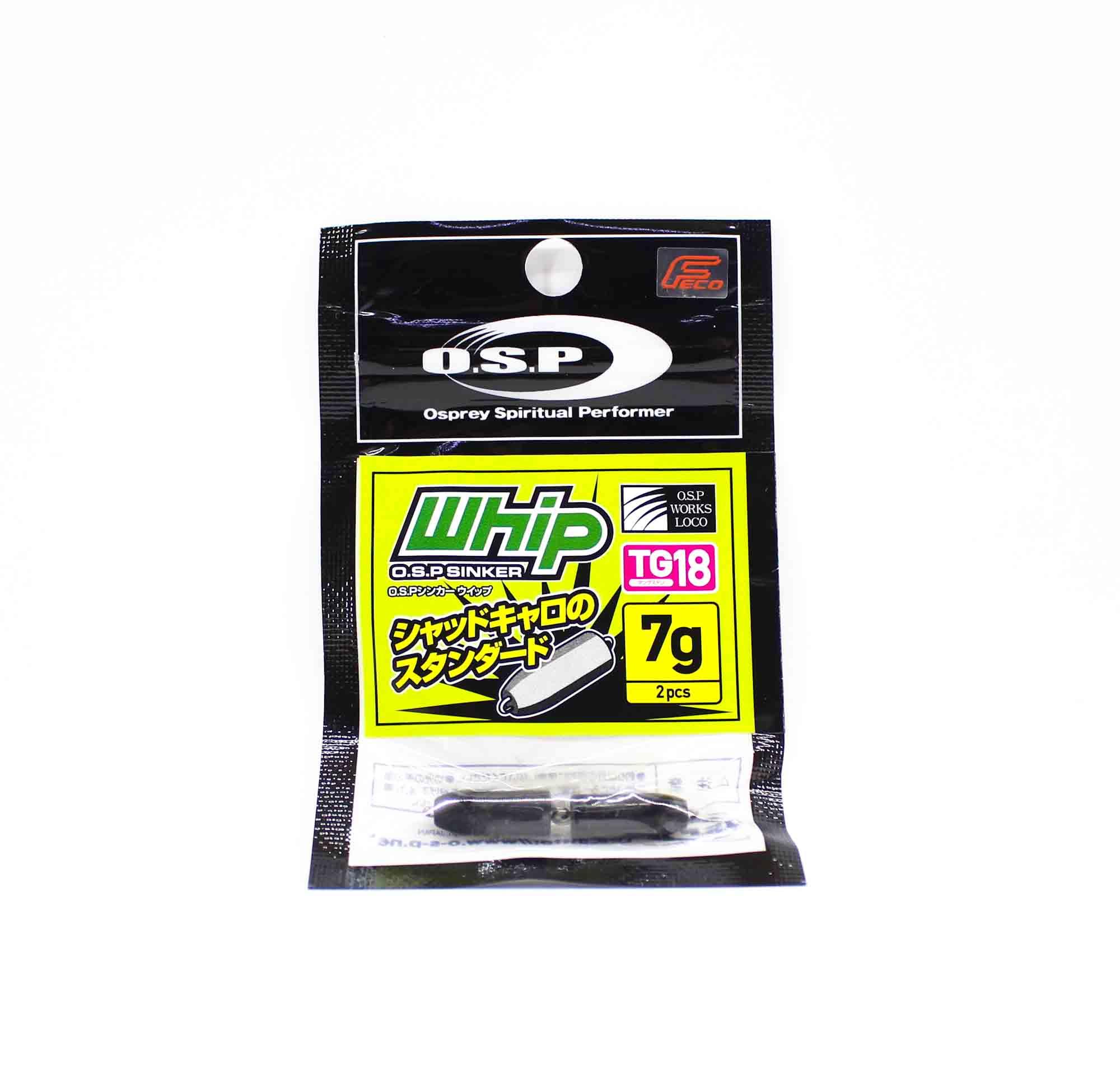 OSP Sinker Whip Tungsten 7 grams 2 piece (3999)