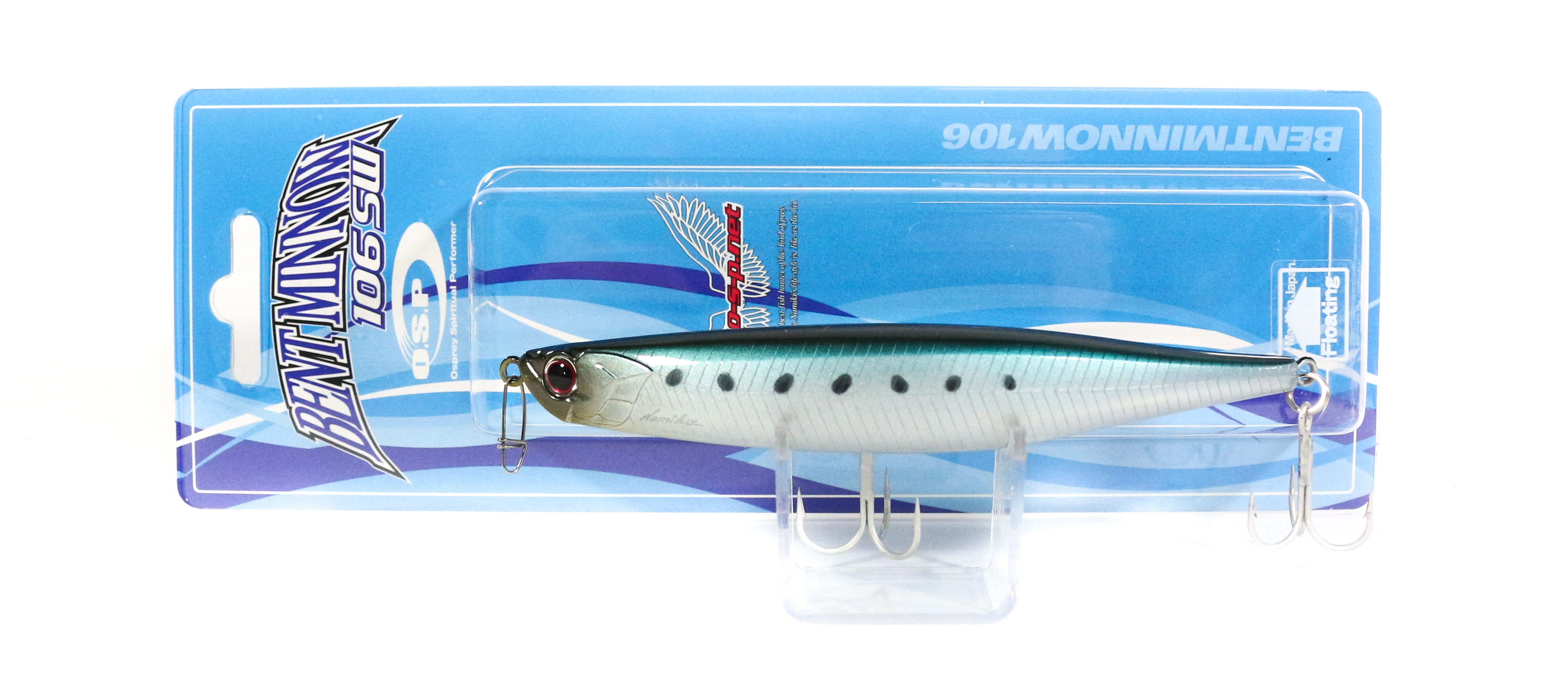 OSP Bent Minnow 106F SW Floating Minnow Lure P-58 (5629)