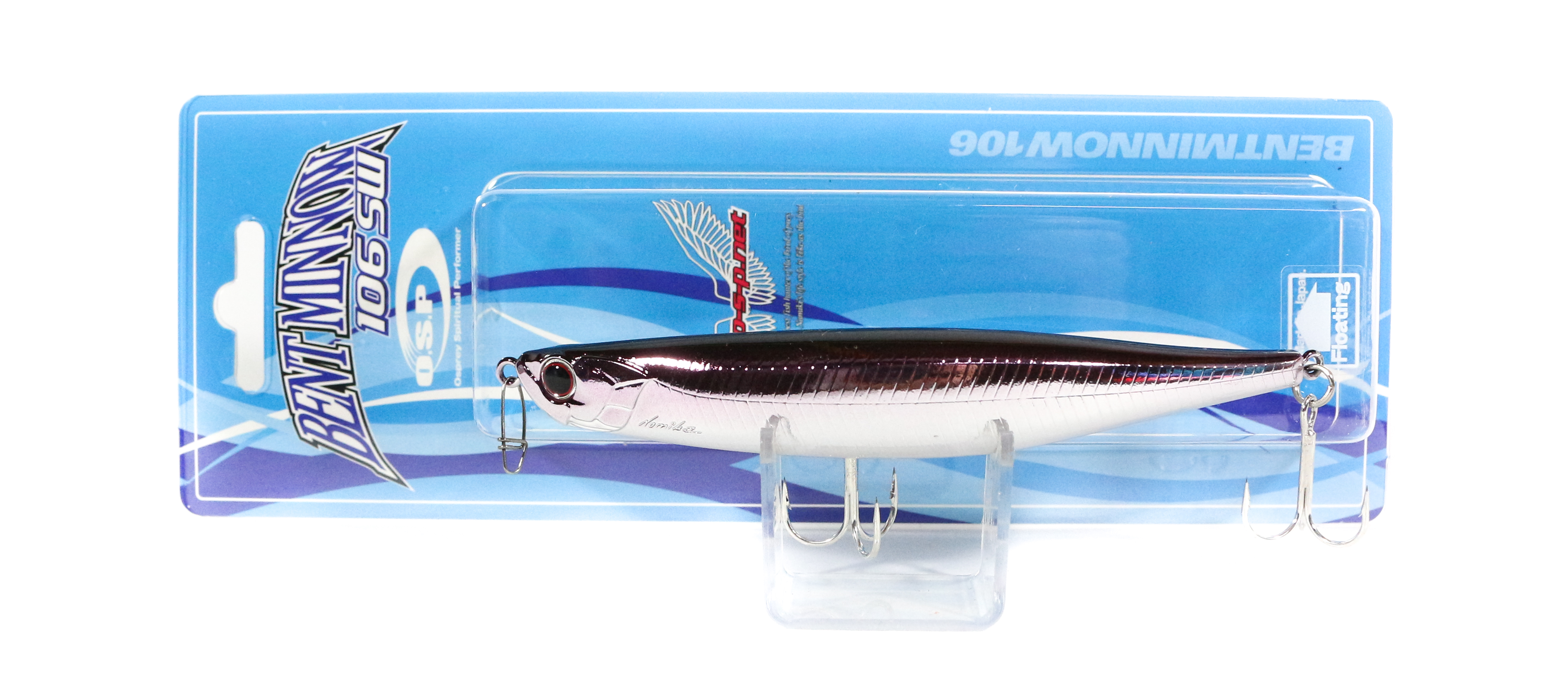 OSP Bent Minnow 106F SW Floating Minnow Lure H-54 (1313)