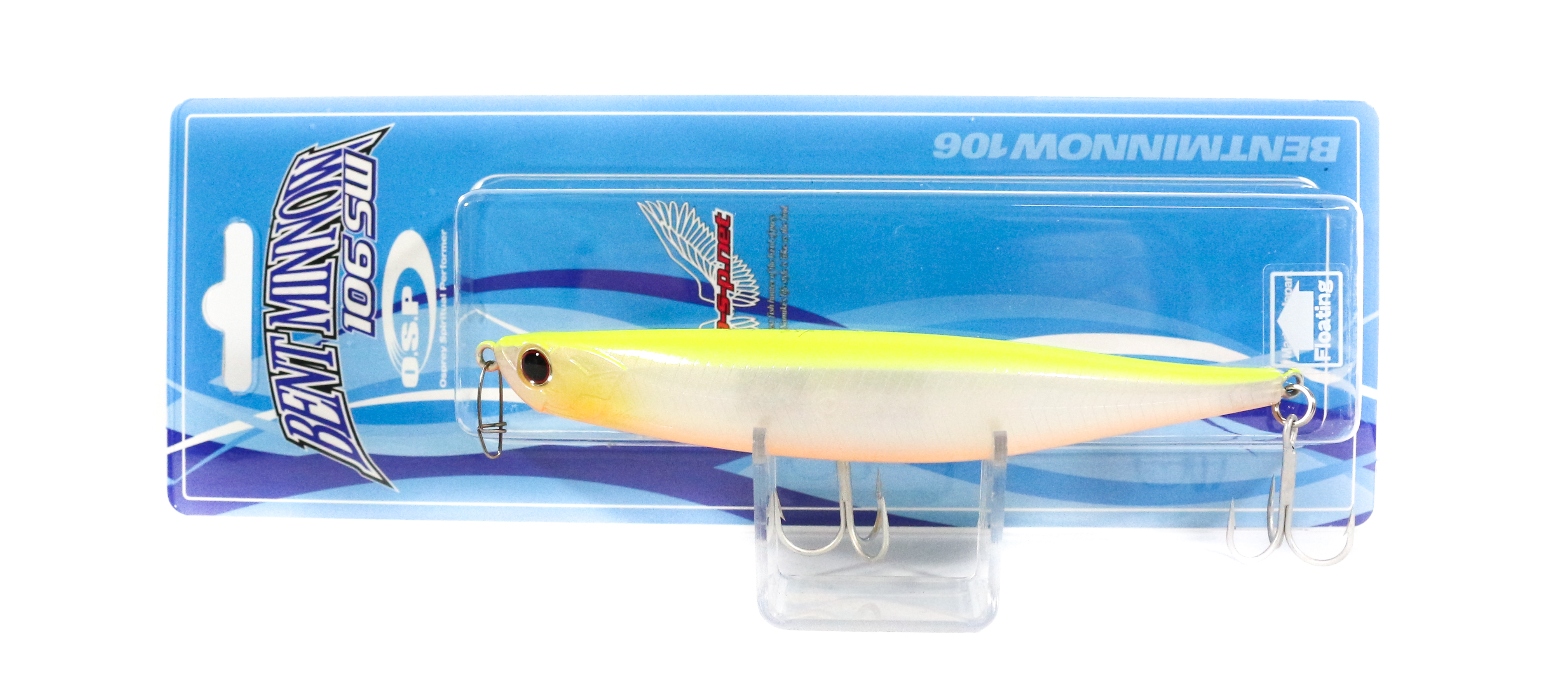 OSP Bent Minnow 106F SW Floating Minnow Lure P-64 (1337)