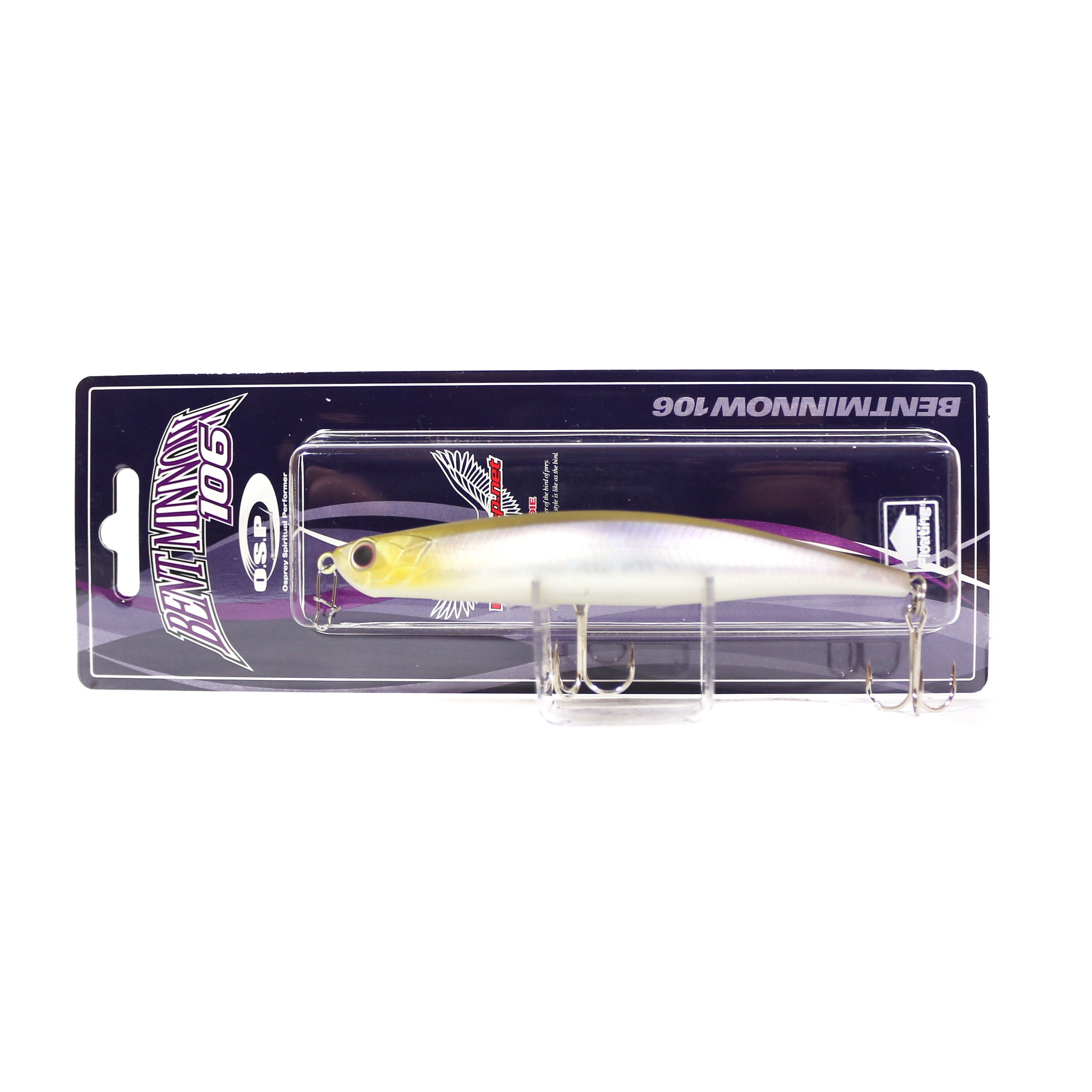 OSP Bent Minnow 106F Floating Minnow Lure H-23 (6937)