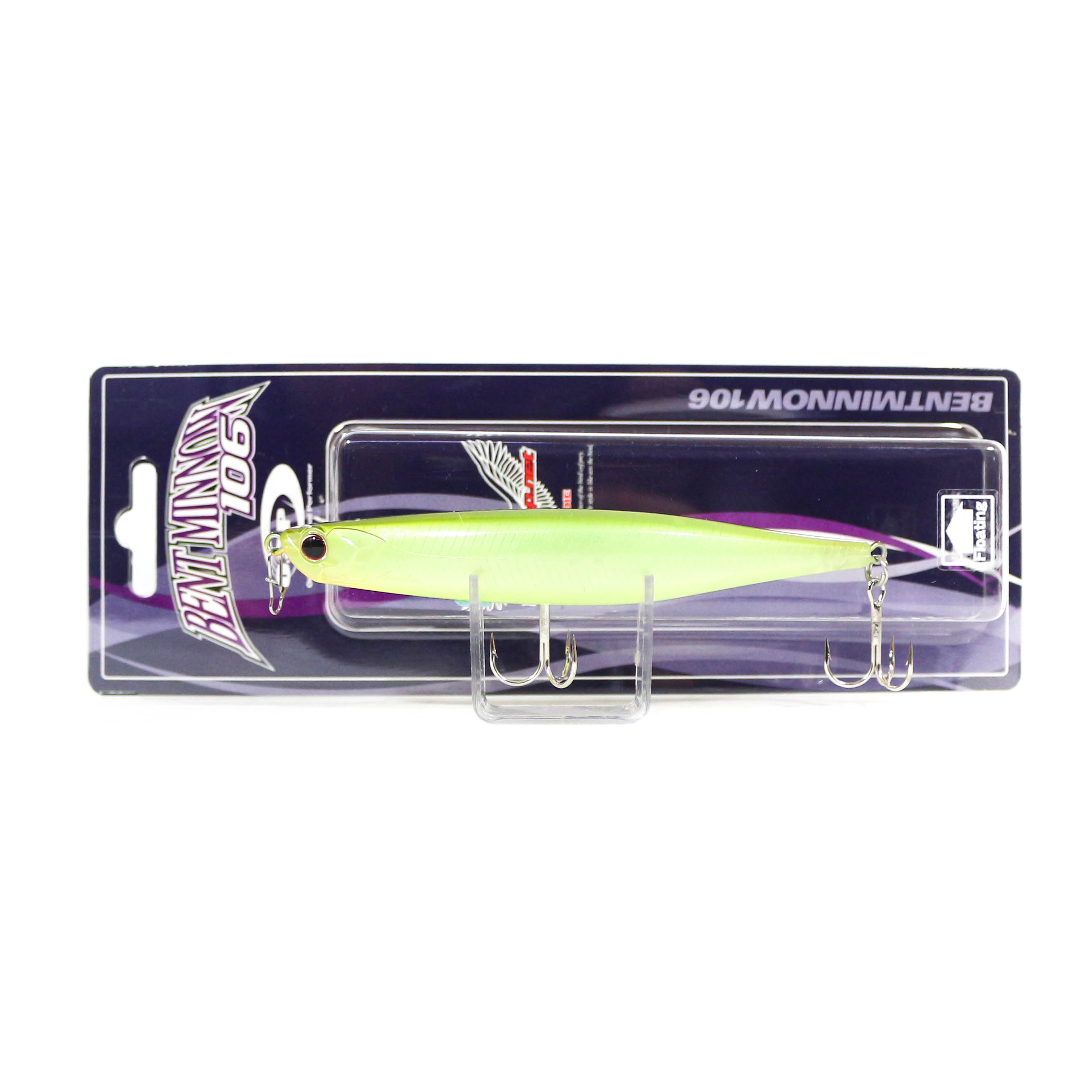 OSP Bent Minnow 106F Floating Minnow Lure G-35 (4581)