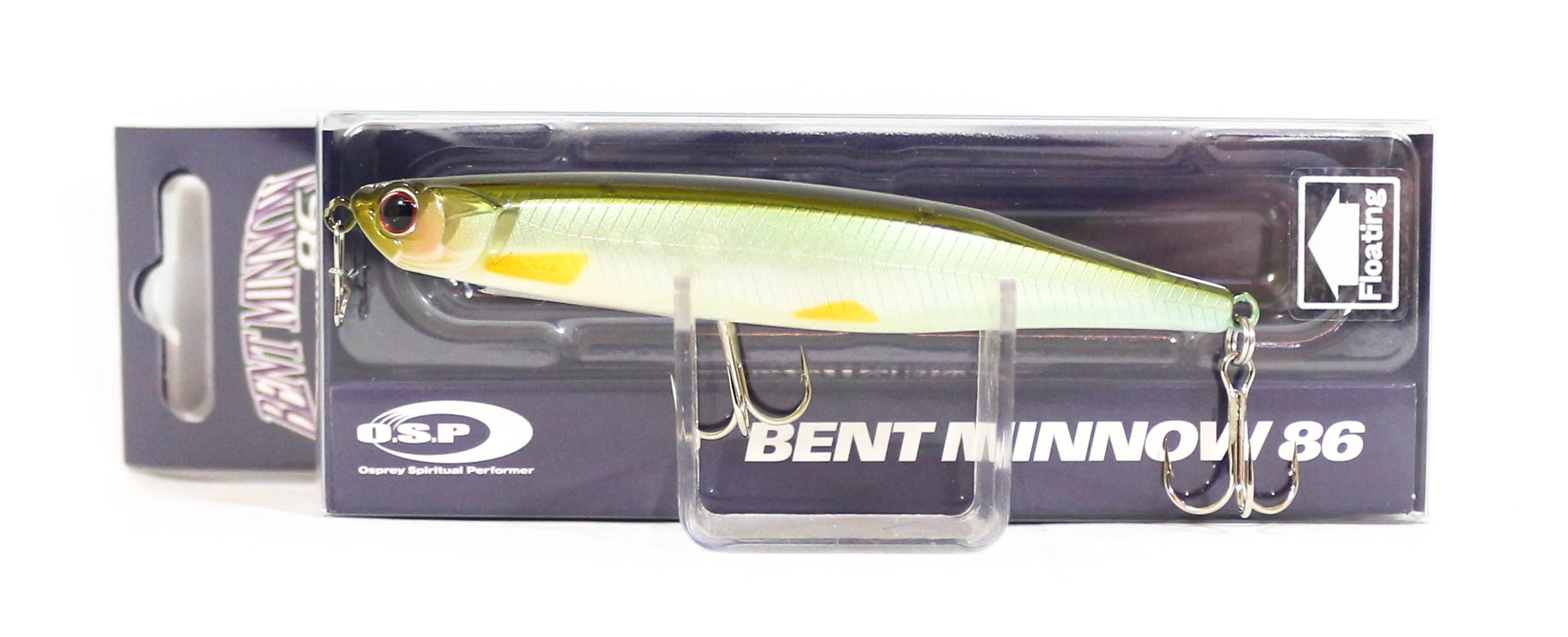 OSP Bent Minnow 86F Floating Minnow Lure GHF-83 (3884)