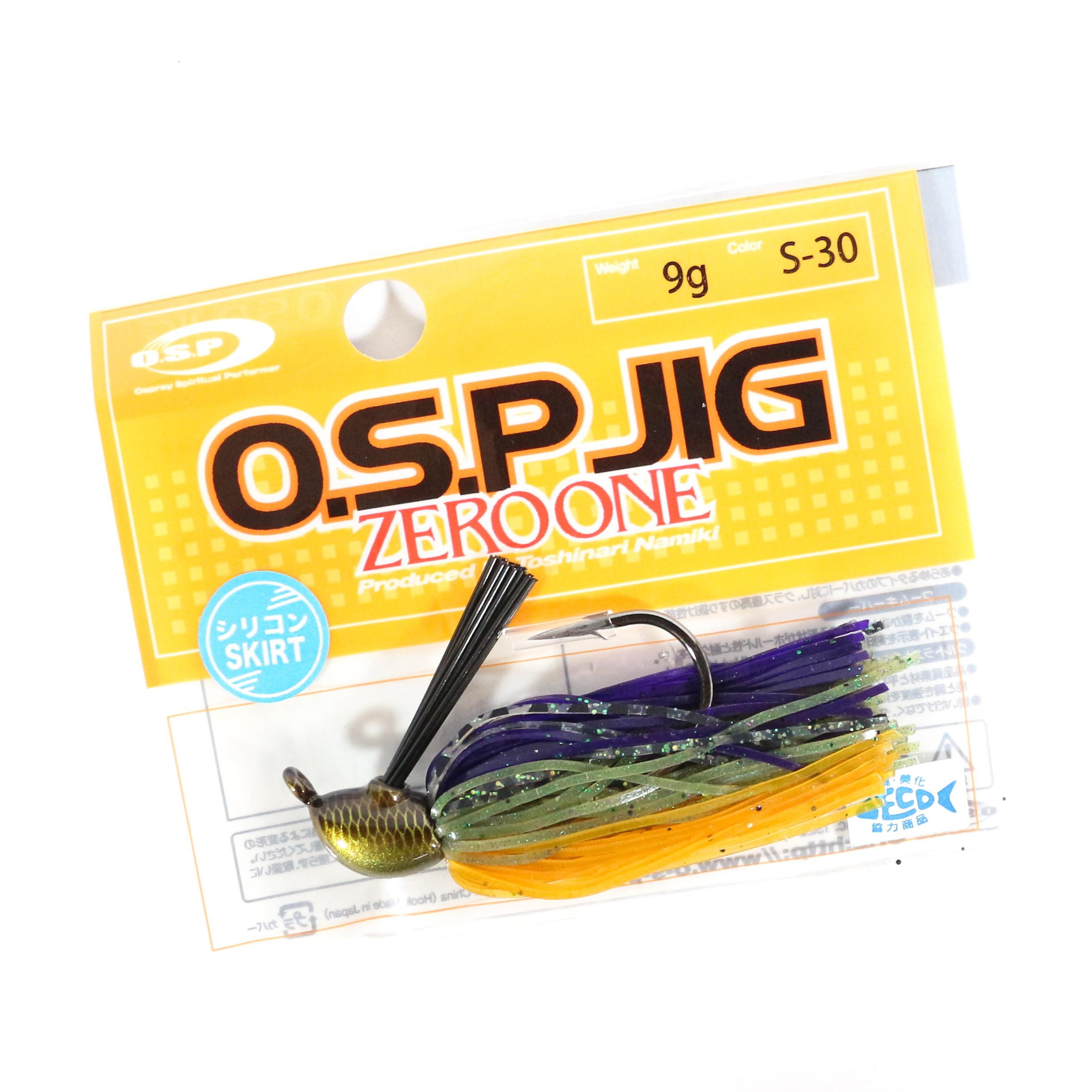OSP Rubber Jig Zero One Strong Hook 11 Grams GS-11 9013