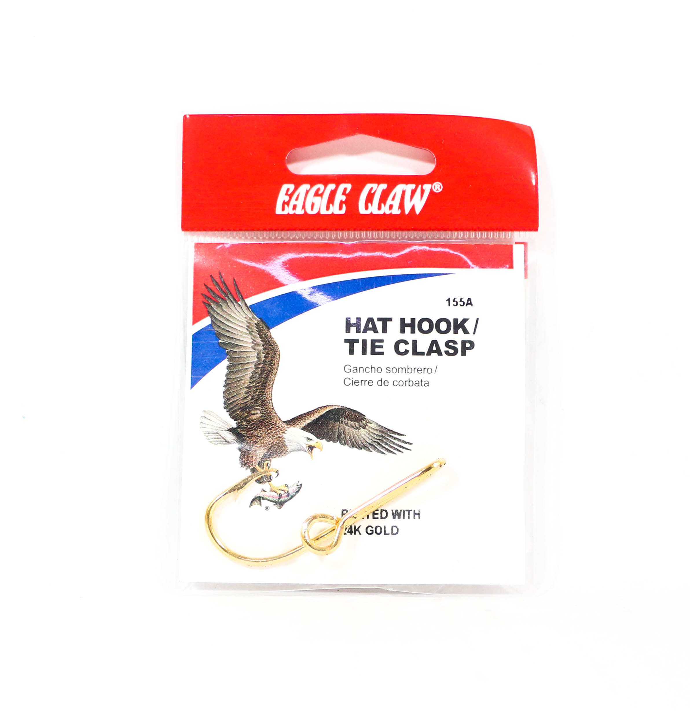 Eagle Claw Hat Pin Gold (5396)