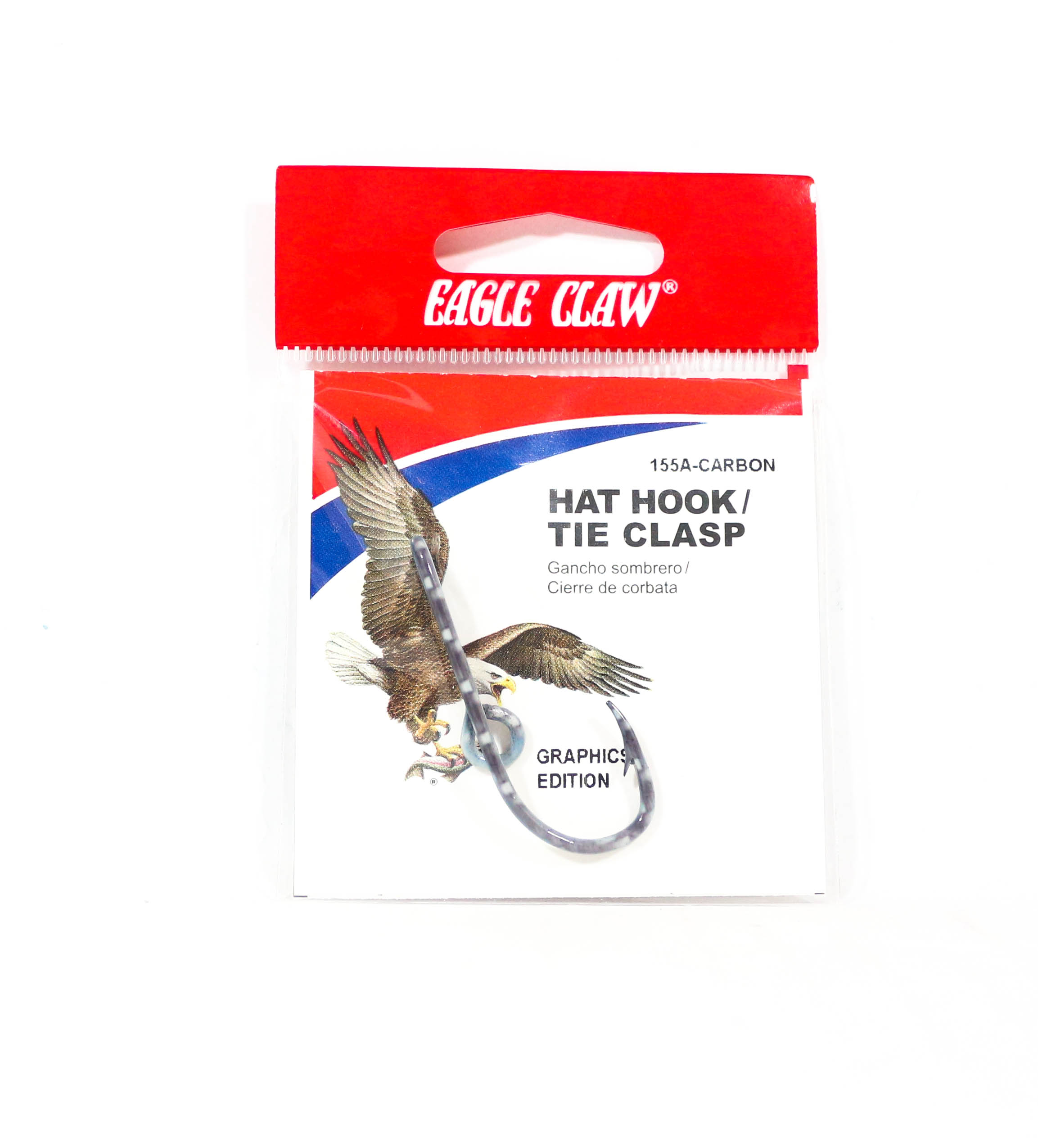 Eagle Claw Hat Pin Carbon (7997)
