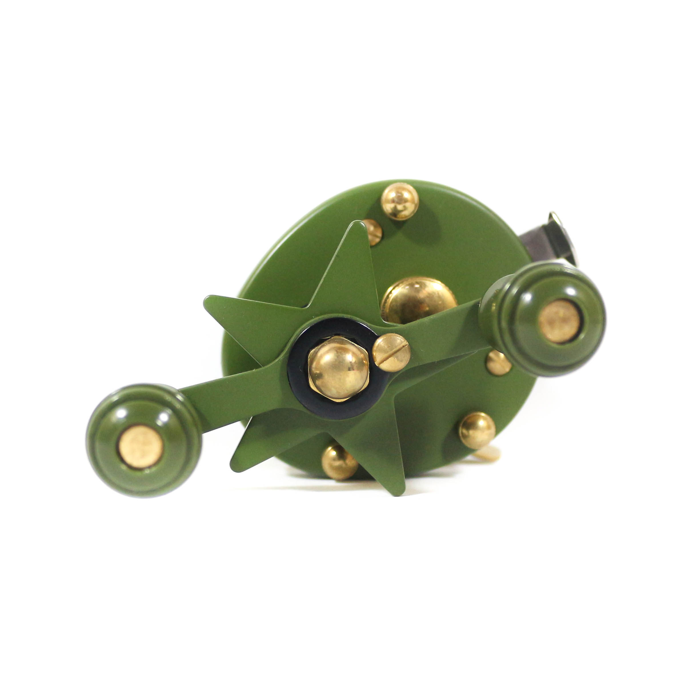 Frog Baitcast Reel Toy Machine Military (2009)