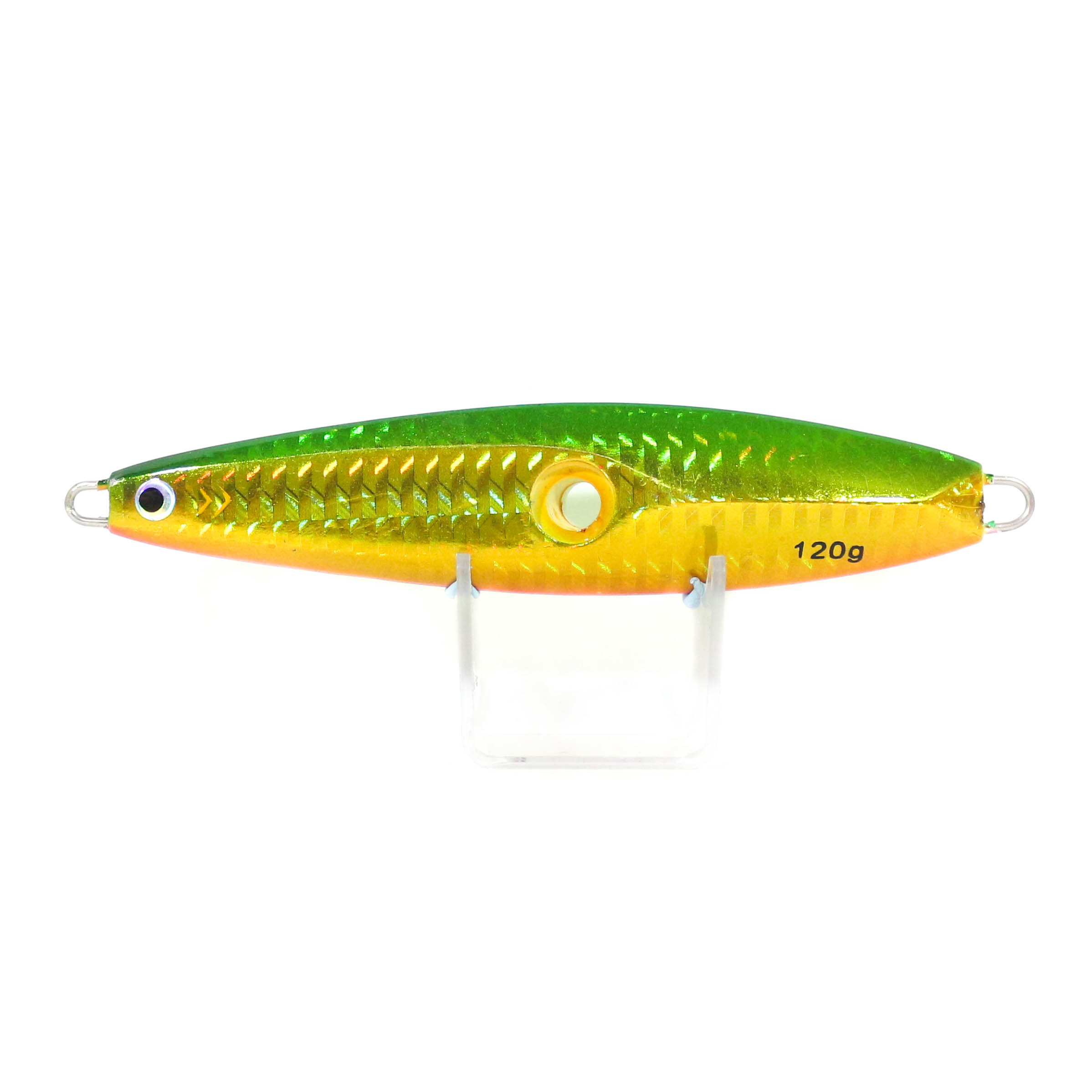 Metal Inchiku Jig Head 120 grams Green Flash (0008)