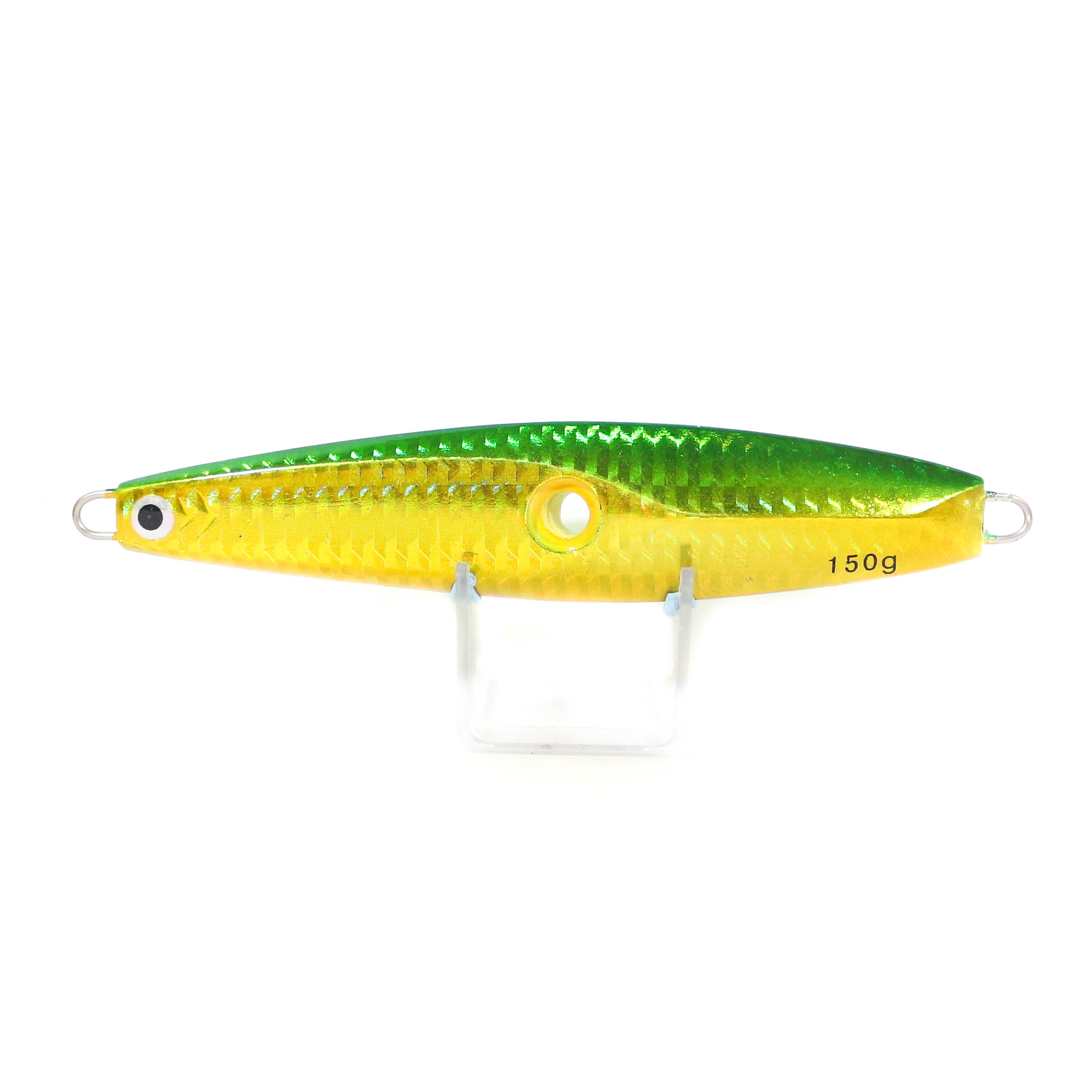 Metal Inchiku Jig Head 150 grams Green Flash (0011)