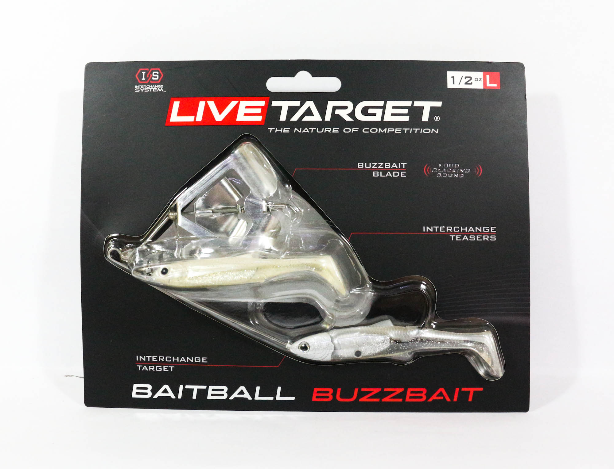 Live Target Bait Ball Buzz Bait Topwater Sinking Lure 853 (3279)