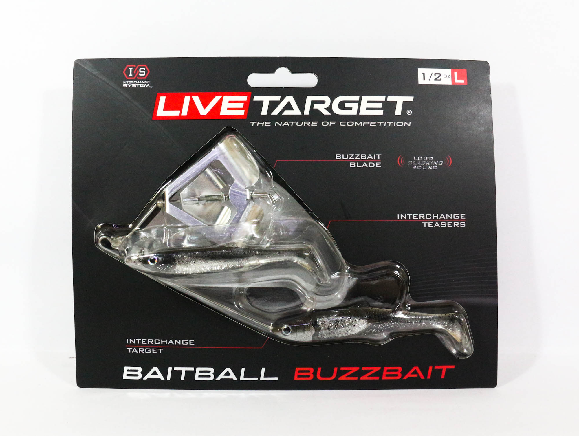 Live Target Bait Ball Buzz Bait Topwater Sinking Lure 850 (3286)