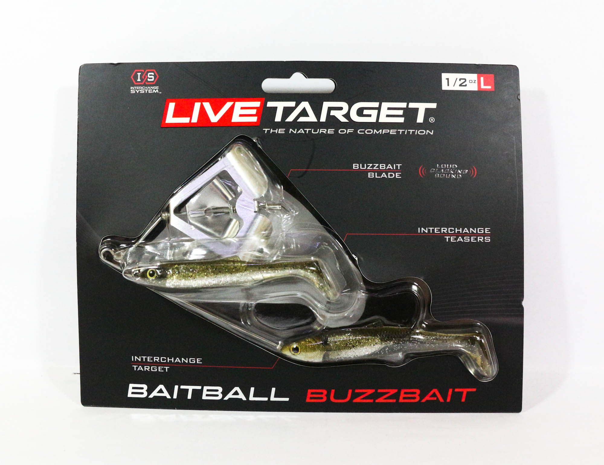 Live Target Bait Ball Buzz Bait Topwater Sinking Lure 852 (3293)