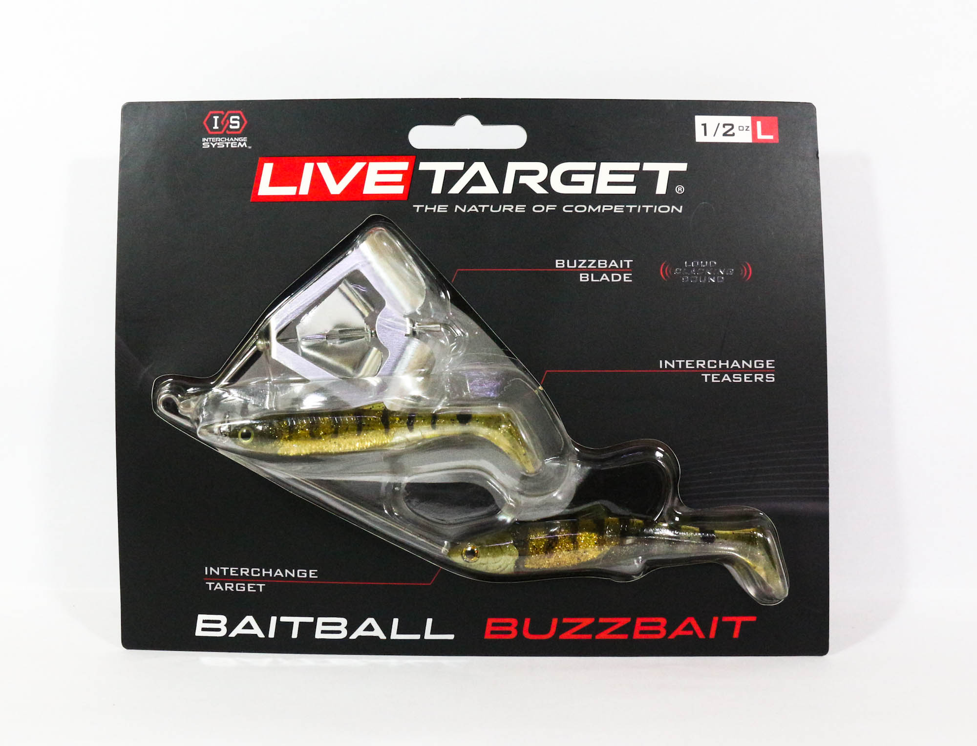 Live Target Bait Ball Buzz Bait Topwater Sinking Lure 152 (3316)