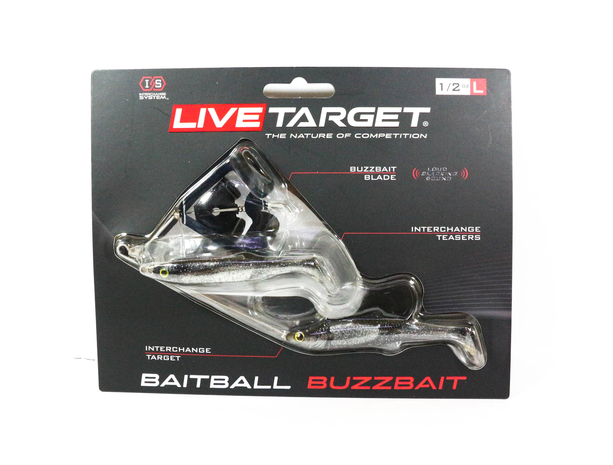 Live Target Bait Ball Buzz Bait Topwater Sinking Lure 101 (3323)