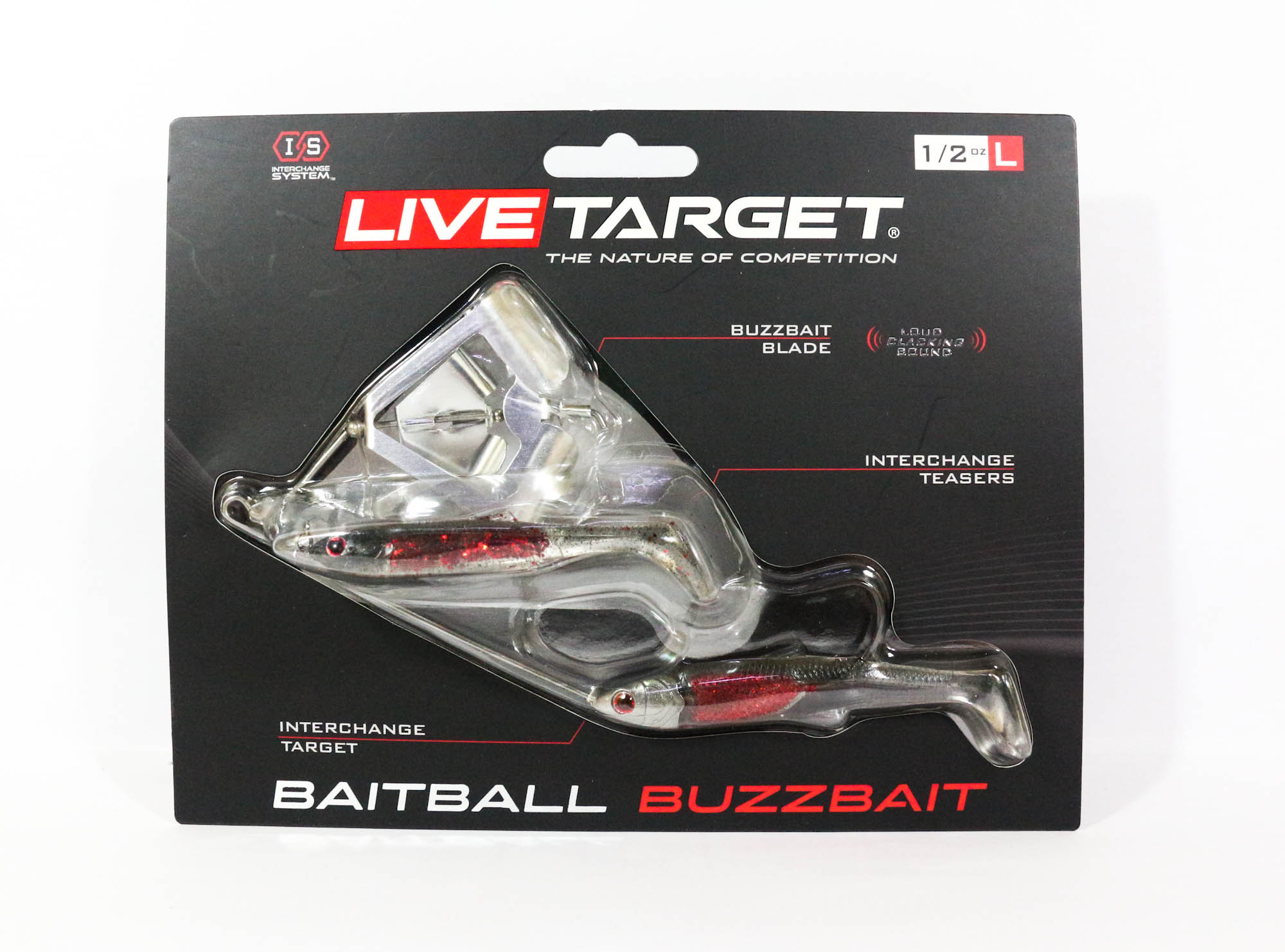Live Target Bait Ball Buzz Bait Topwater Sinking Lure 150 (6263)