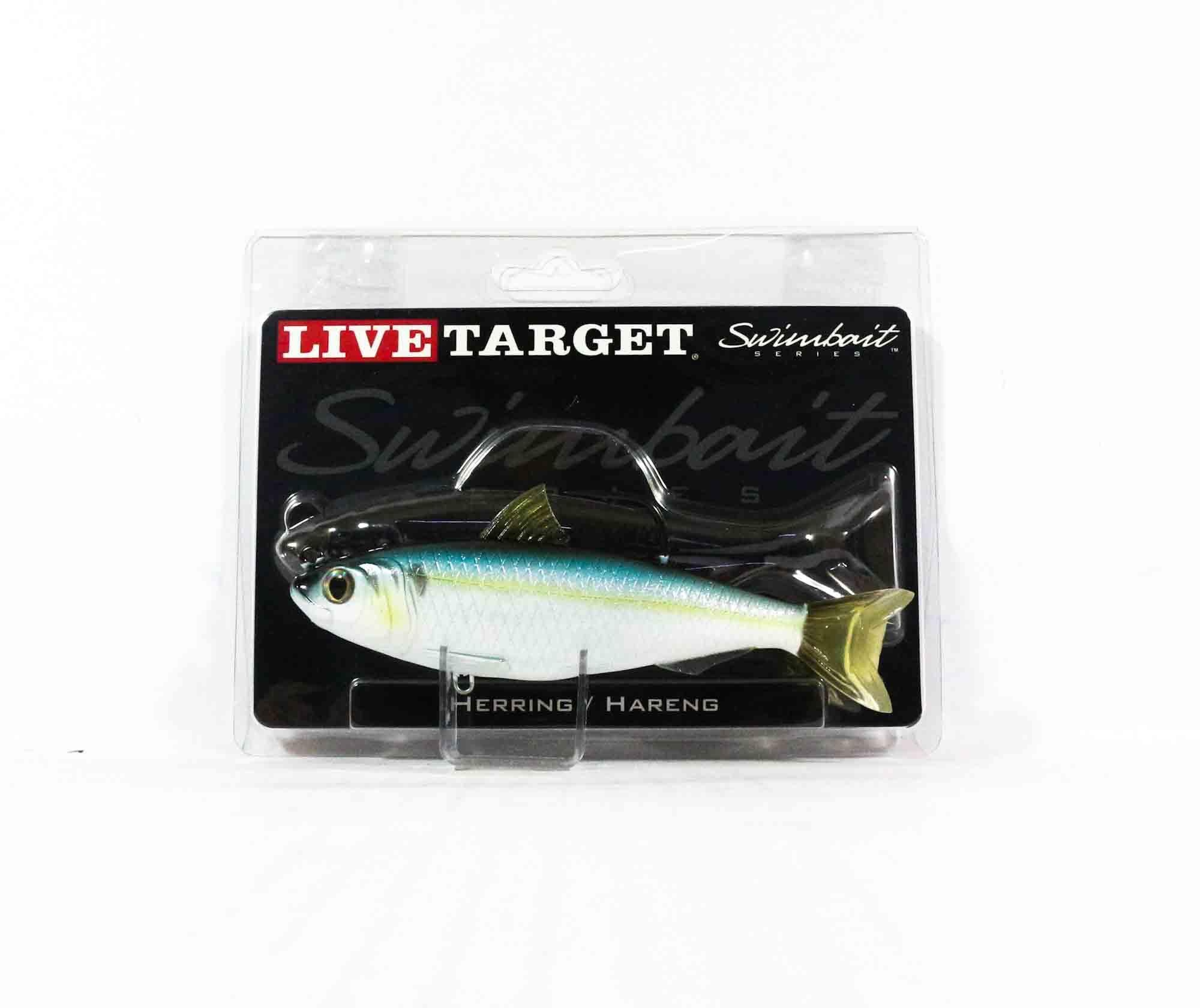 Live Target BBS140MS700 Swimbait Blueback Herring 5.5 Inch Blue Black (8955)
