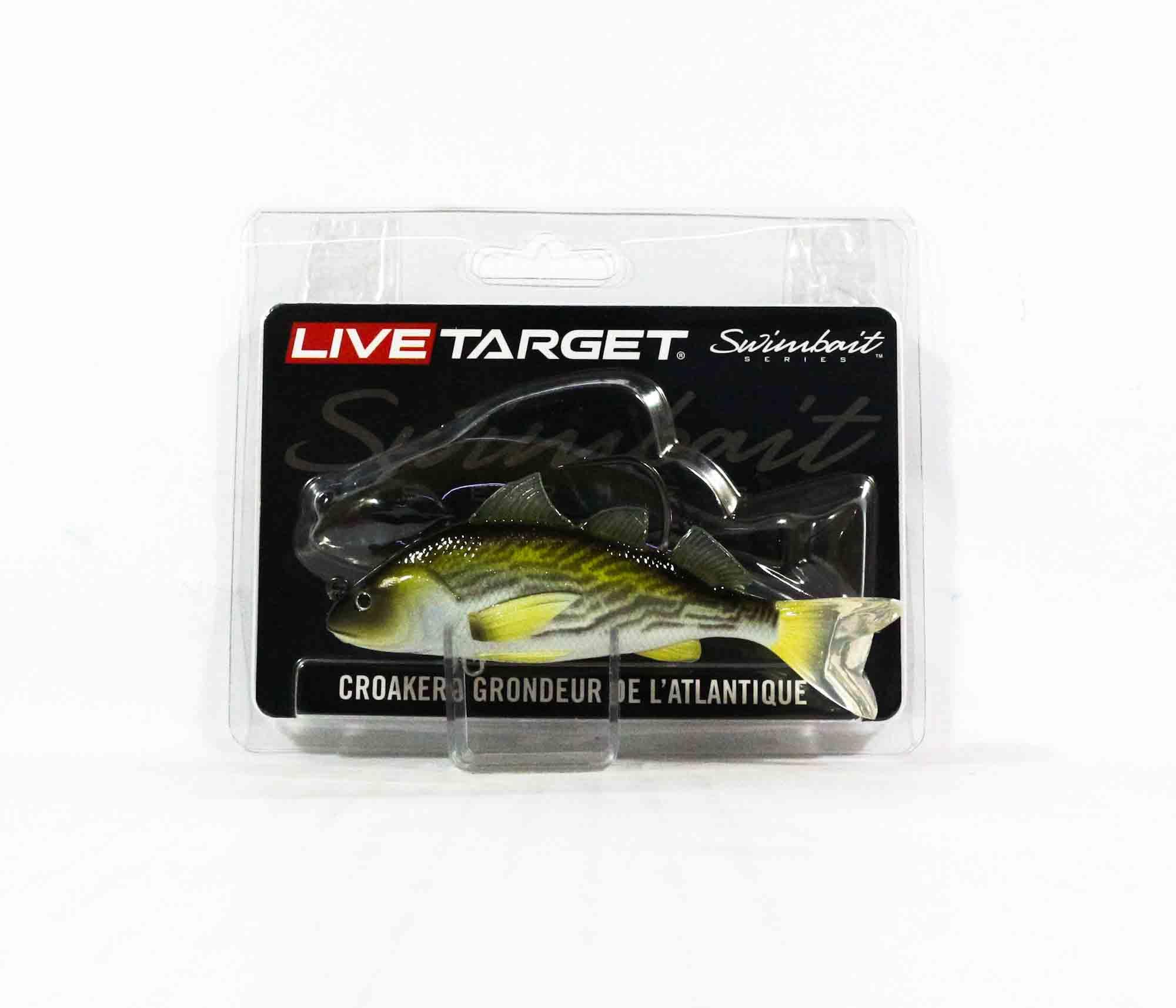 Live Target CRS100MS909 Swimbait Croaker 4 Inch Yellowfin Croaker (1979)