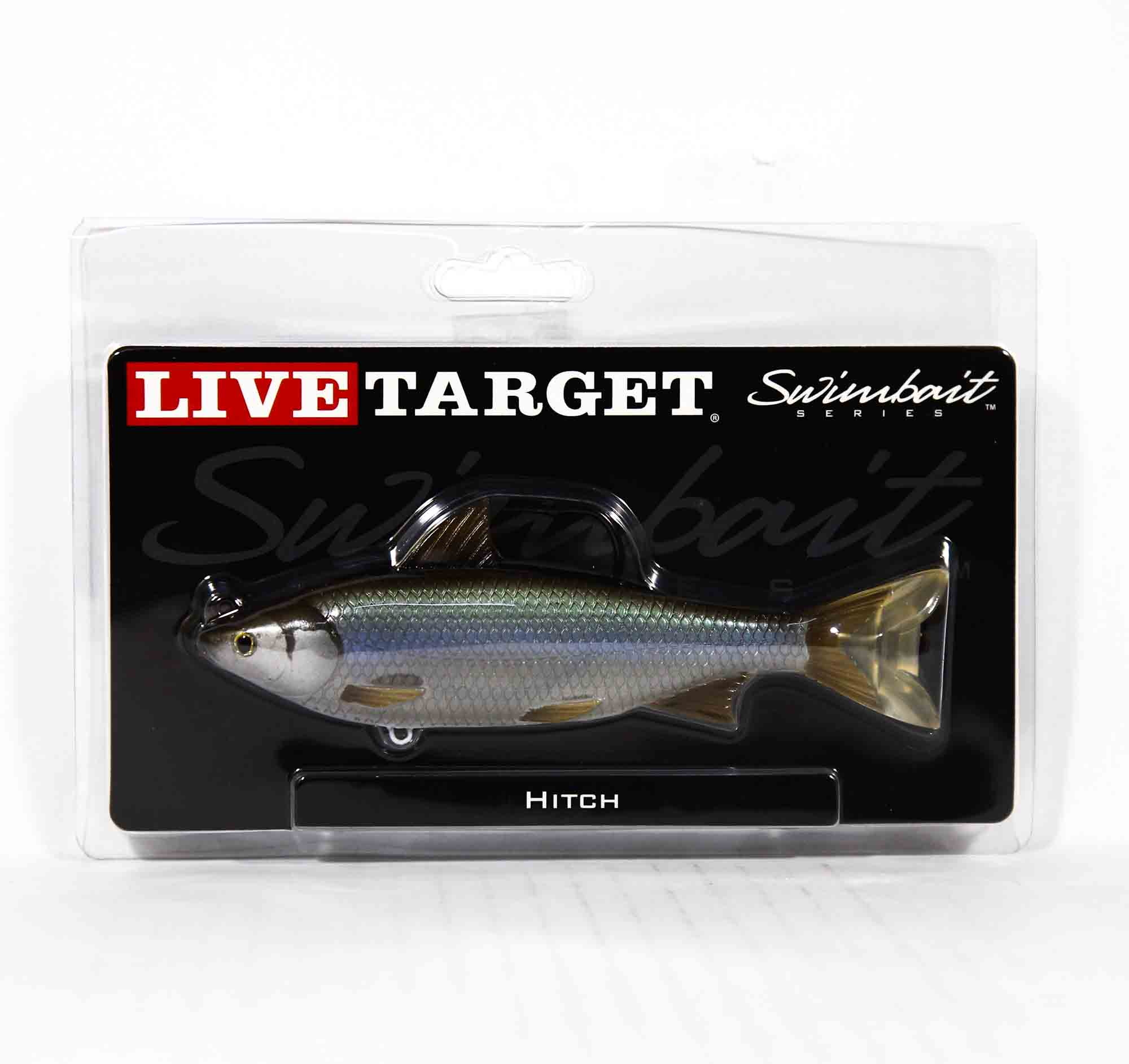 Live Target HTS150MS255 Swimbait Hitch 5.75 Inch N Green (1283)
