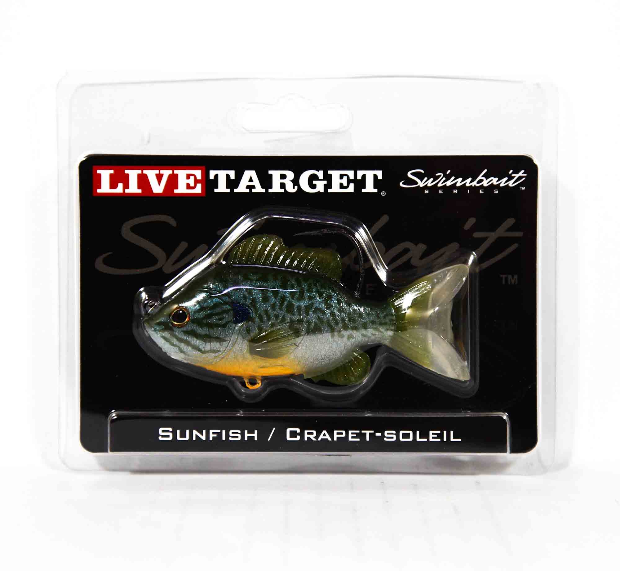 Live Target SFS90MS551 Swimbait Sunfish 3.5 Inch N Blue Pumpkinseed (0583)