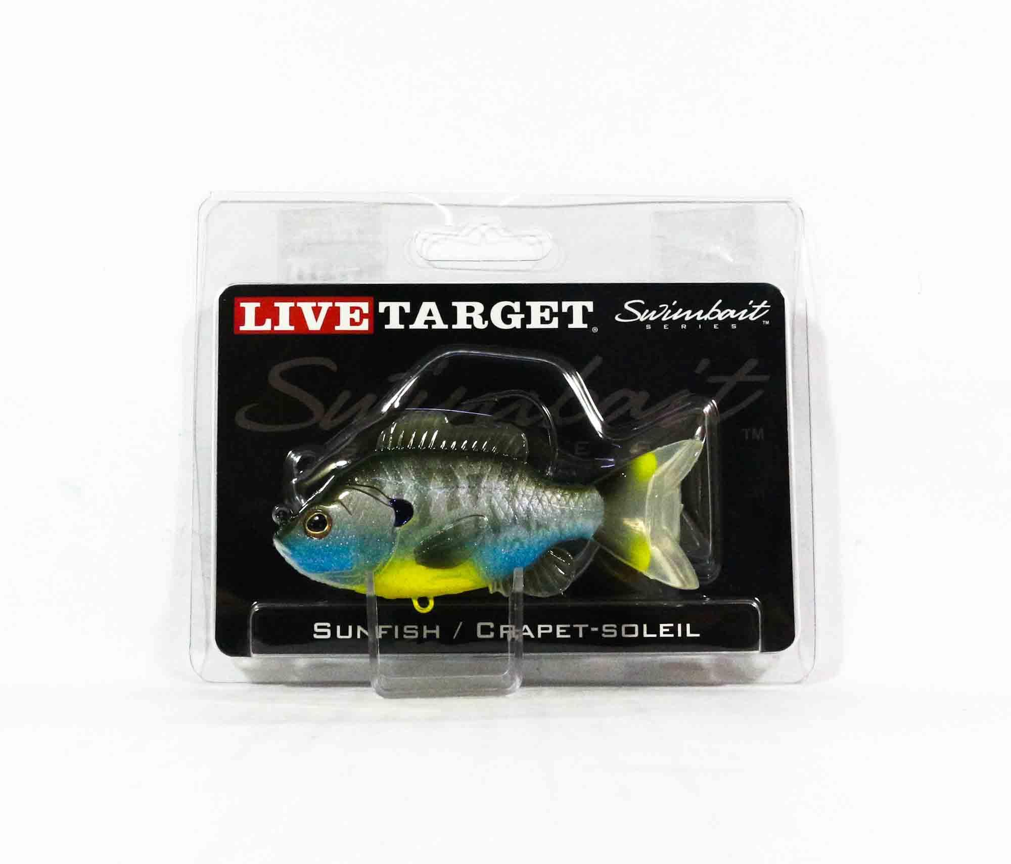 Live Target SFS90MS563 Swimbait Sunfish 3.5 Inch Natural Bluegill (0590)