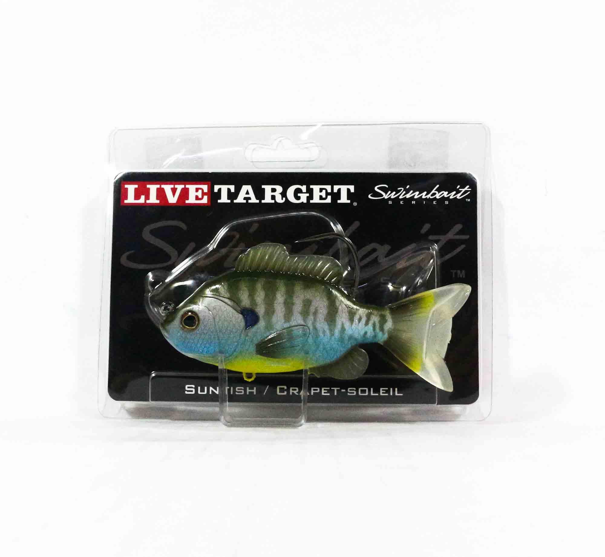 Live Target SFS110MS563 Swimbait Sunfish 4.3 Inch Natural Bluegill (0637)