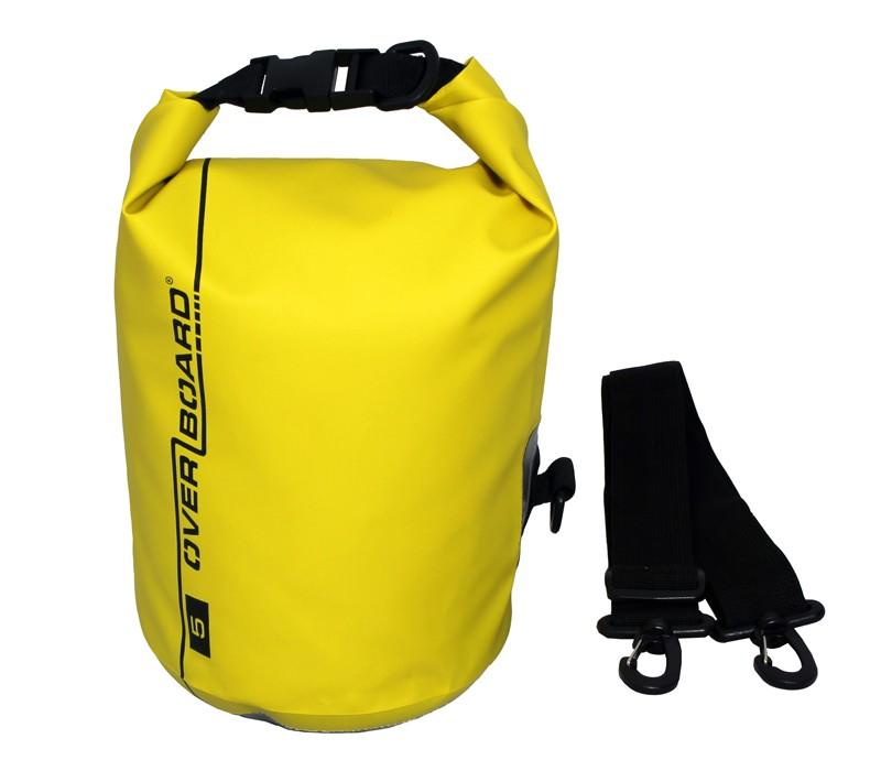 Overboard 5L Dry Tube Waterproof Bag 22 x 18 cm , 0.31 kg Yellow (0097)