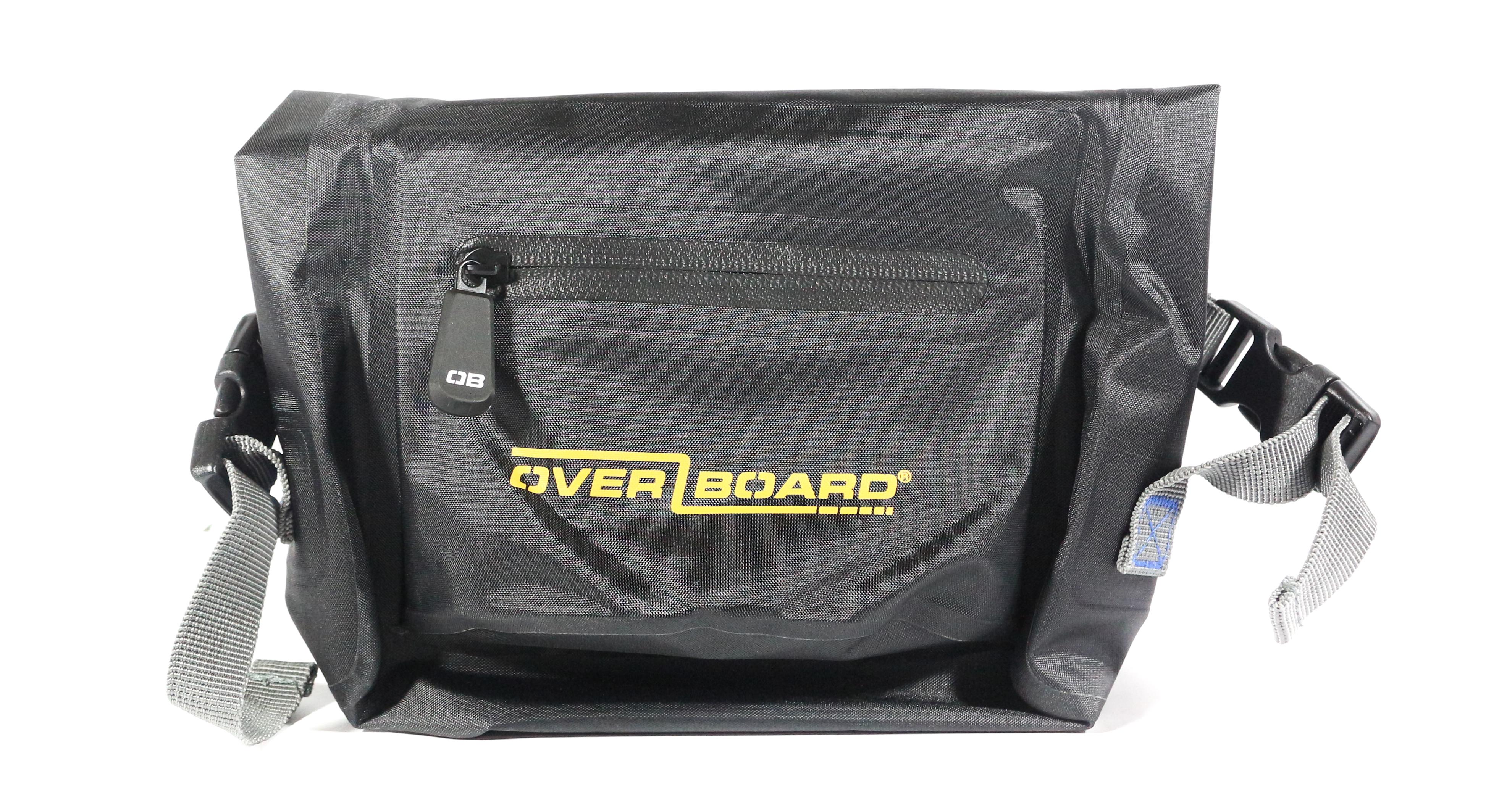 Overboard 3L Waist Pack Bag 13 x 19 x 7.5 cm , 0.32 kg Black (1742)