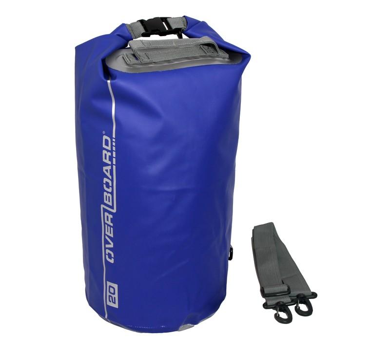 Overboard 20L Dry Tube Waterproof Bag 44 x 25 cm , 0.47 kg Blue (2145)