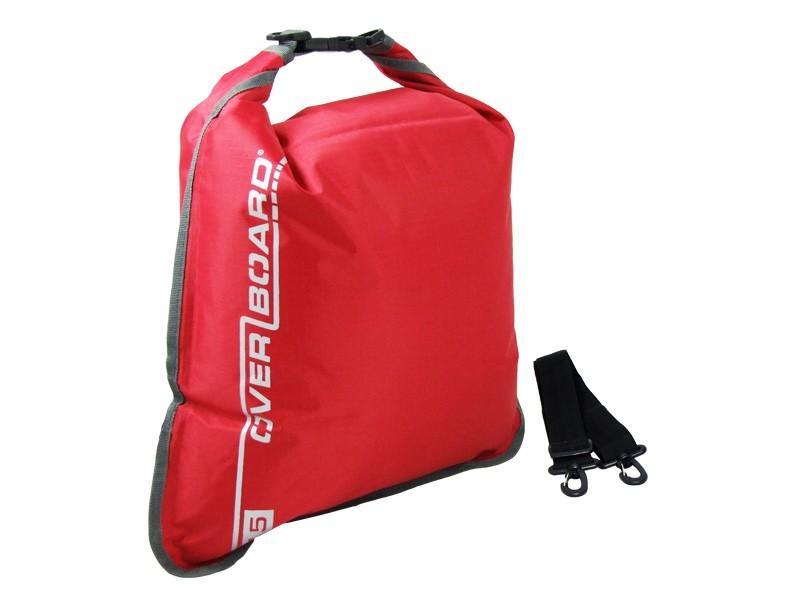 Overboard 15L Dry Flat Waterproof Bag 35 x 37 cm , 0.22 kg Red (2633)