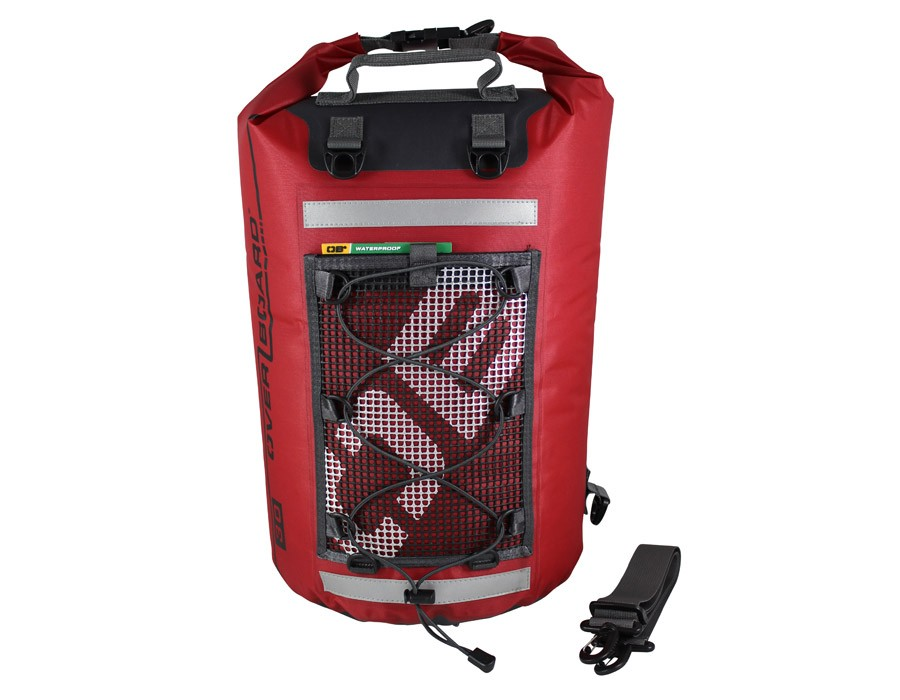 Overboard 30L Ultra Light Dry Tube Bag 42x29x91.5cm, 0.42kg Red (3166)