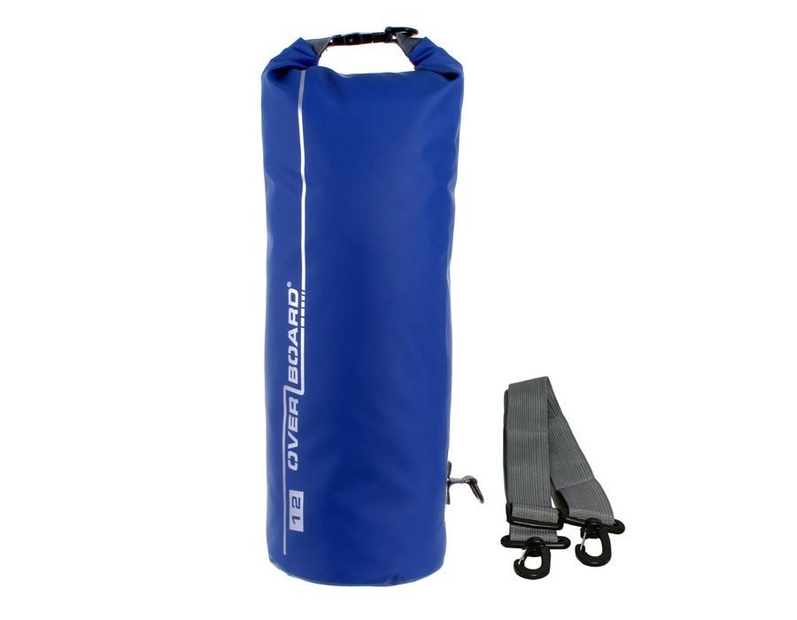 Overboard 12L Dry Tube Waterproof Bag 45 x 18 cm , 0.42 kg Blue (3838)