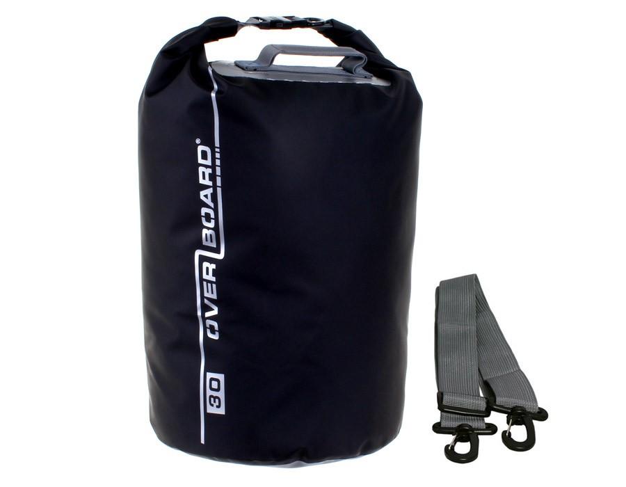 Overboard 30L Dry Tube Waterproof Bag 44 x 29 cm , 0.6 kg Black (3876)