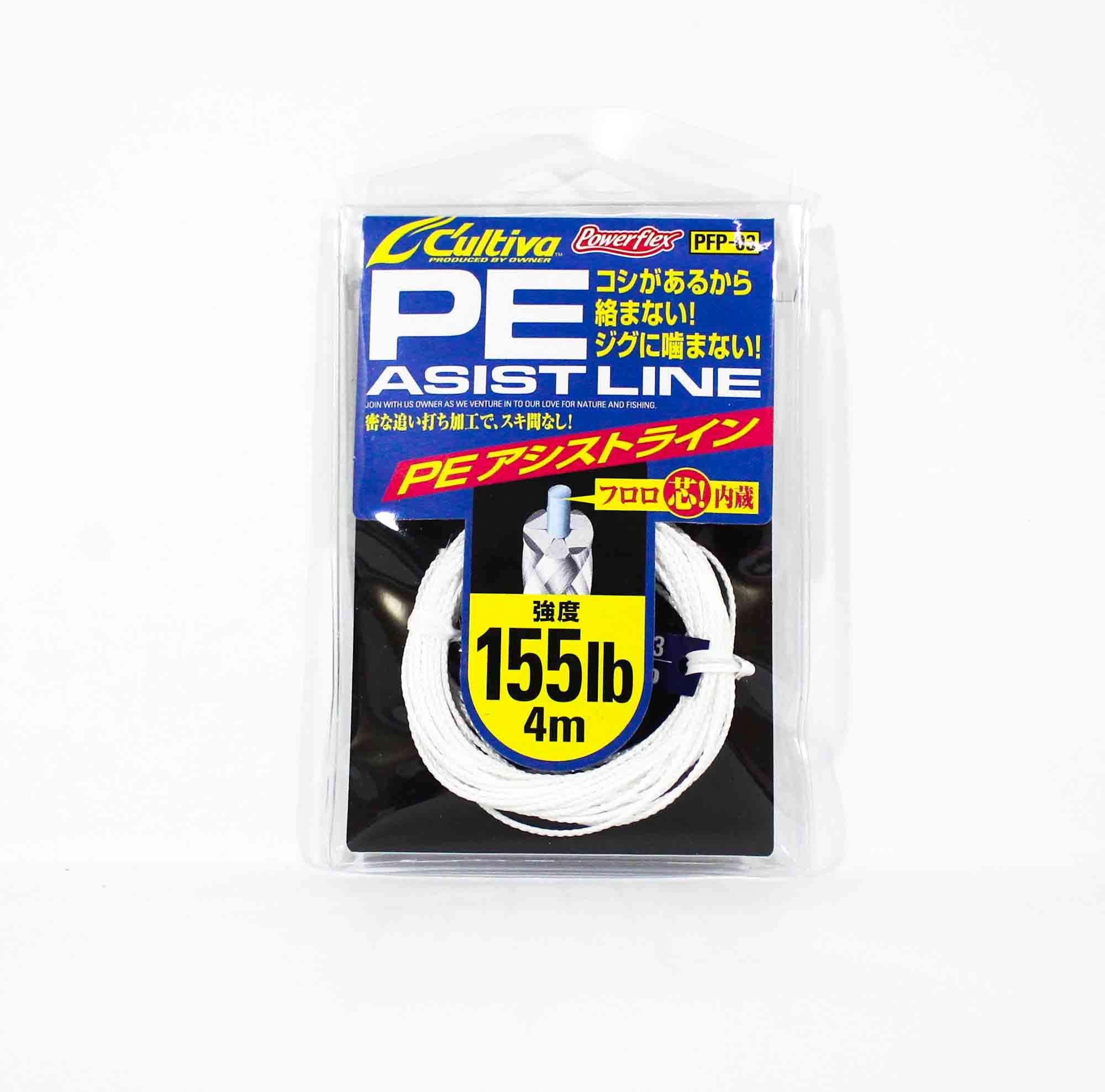 Owner PFP-03 PE Assist Cord Line 155lb 4m (4313)
